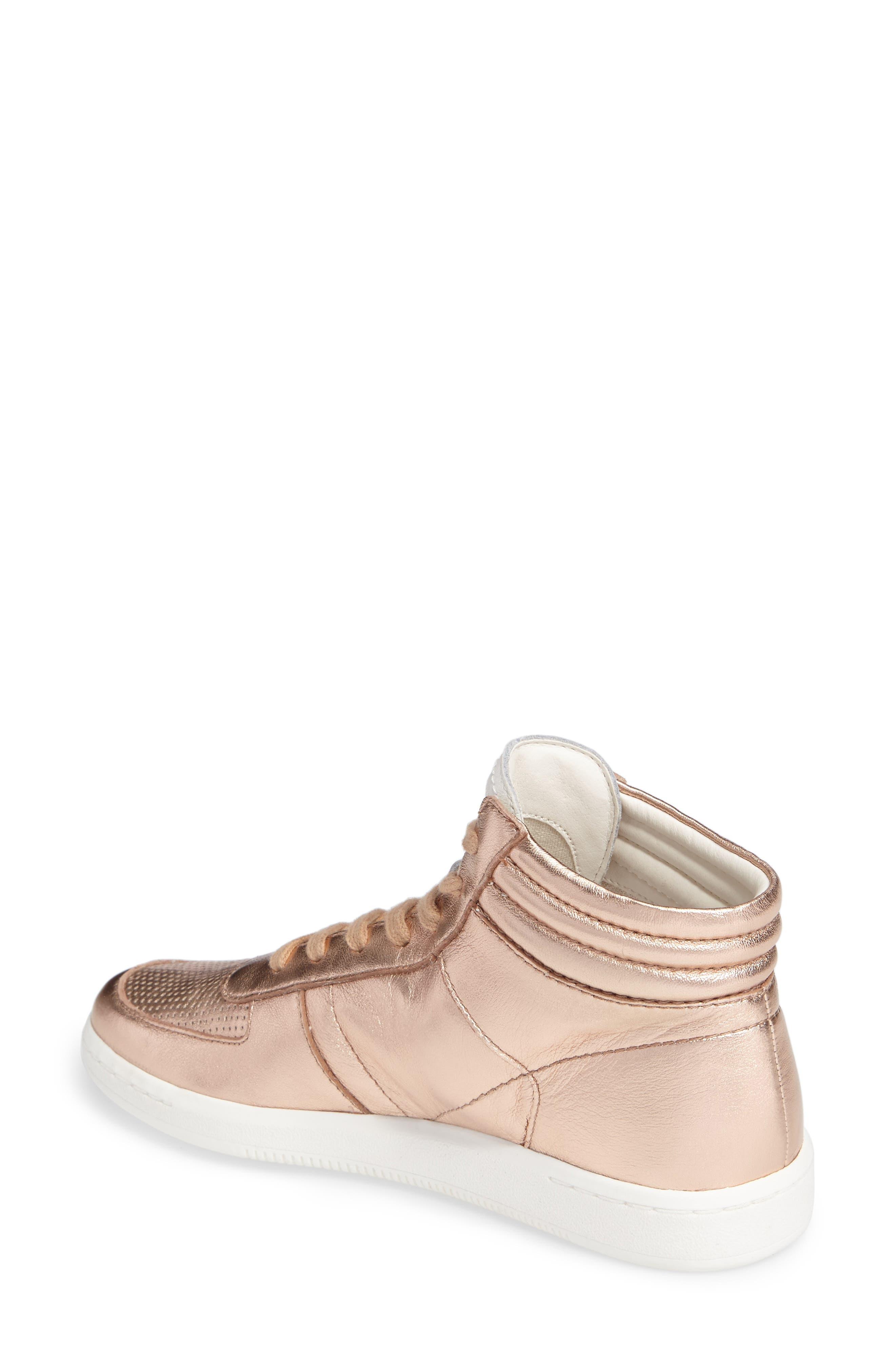 Nate High Top Sneaker,                             Alternate thumbnail 2, color,