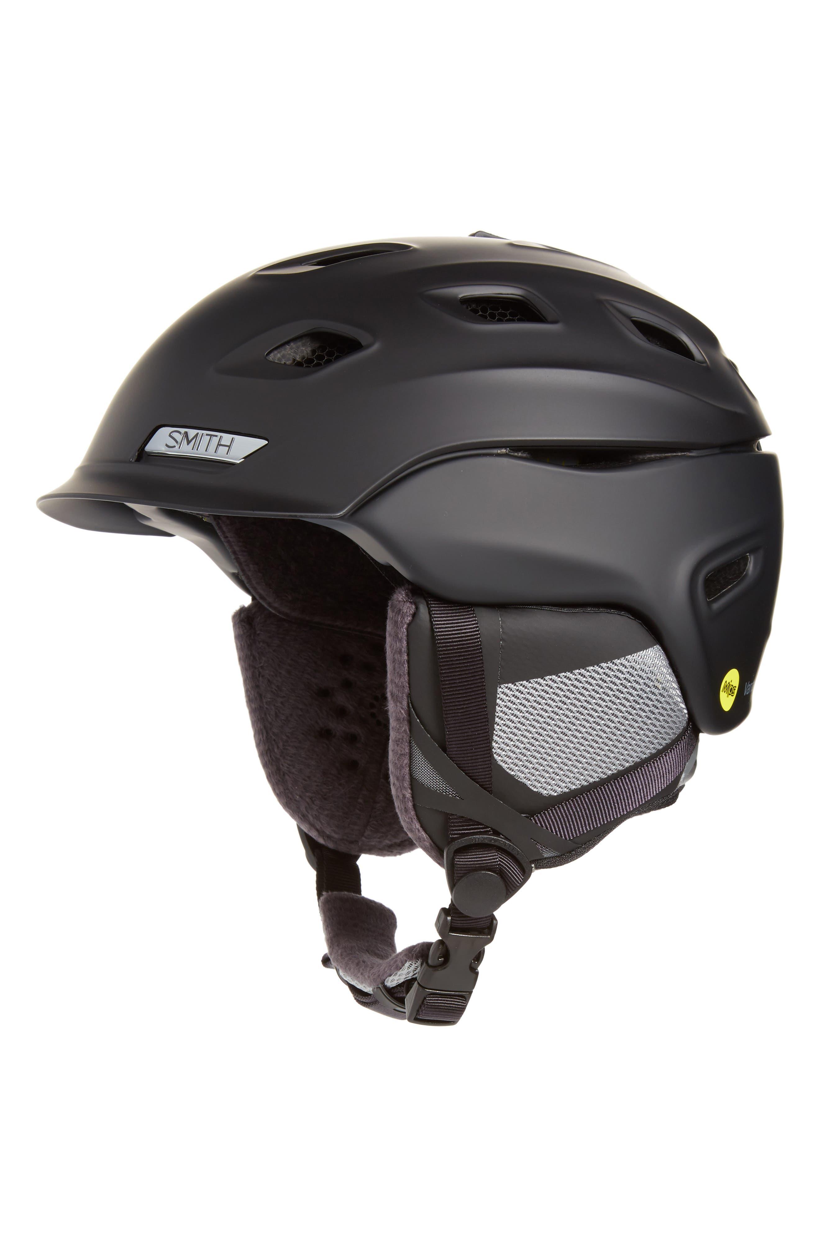 Vantage Snow Helmet With Mips - Black in Matte Petrol