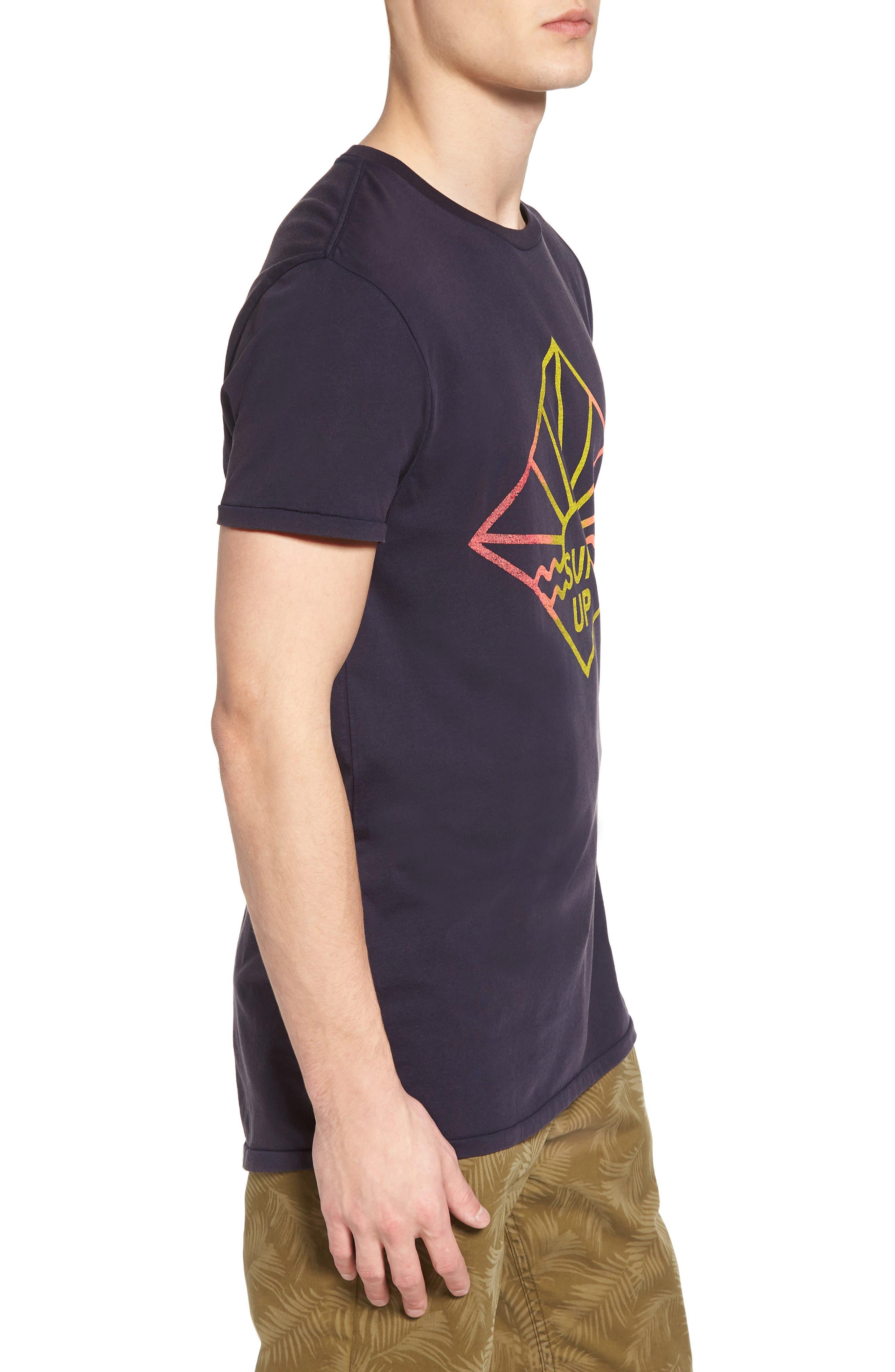 Surfer Graphic T-Shirt,                             Alternate thumbnail 3, color,                             NIGHT