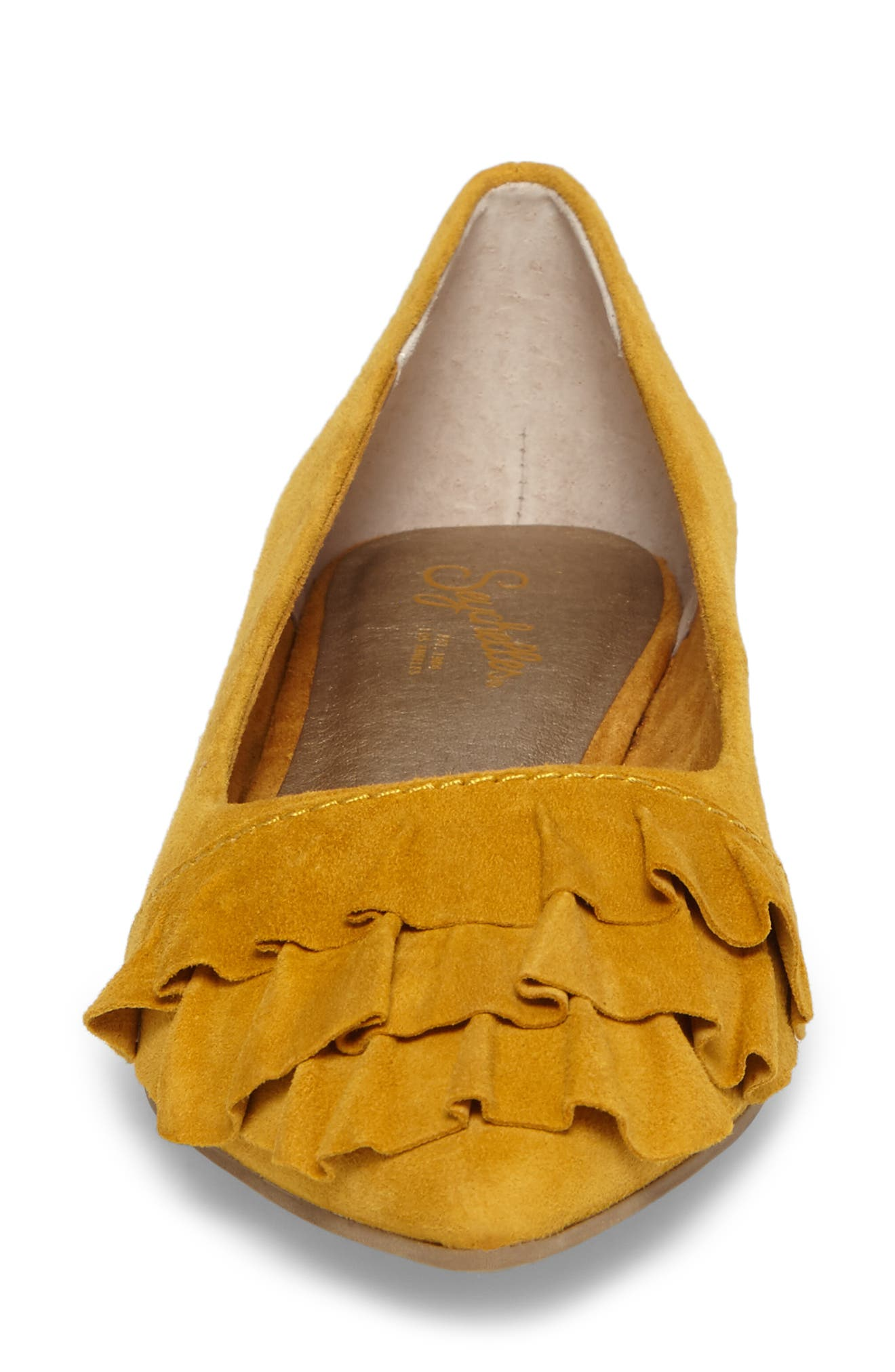 Downstage Pointy Toe Flat,                             Alternate thumbnail 22, color,