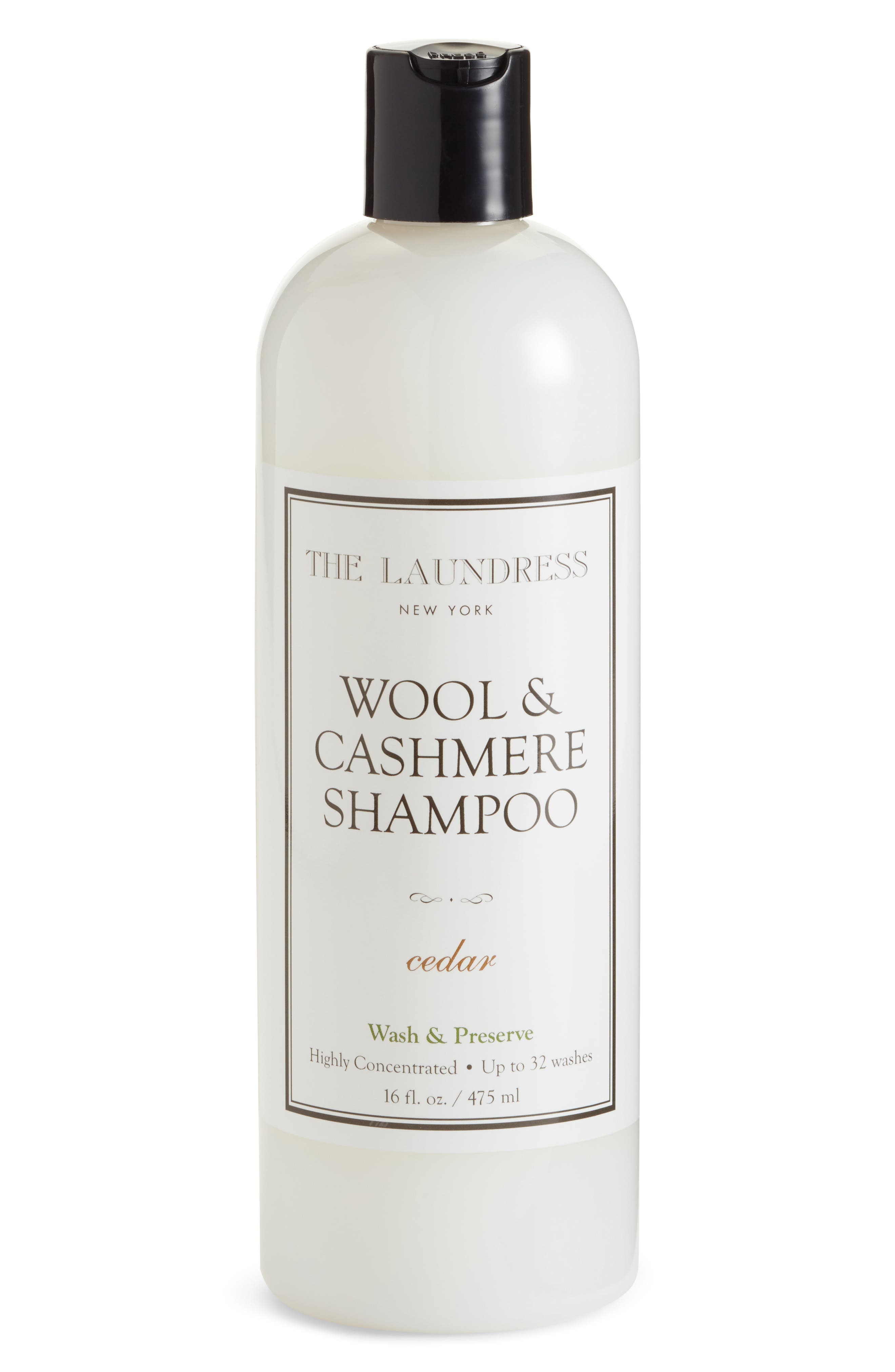 THE LAUNDRESS Wool & Cashmere Shampoo, Main, color, 960