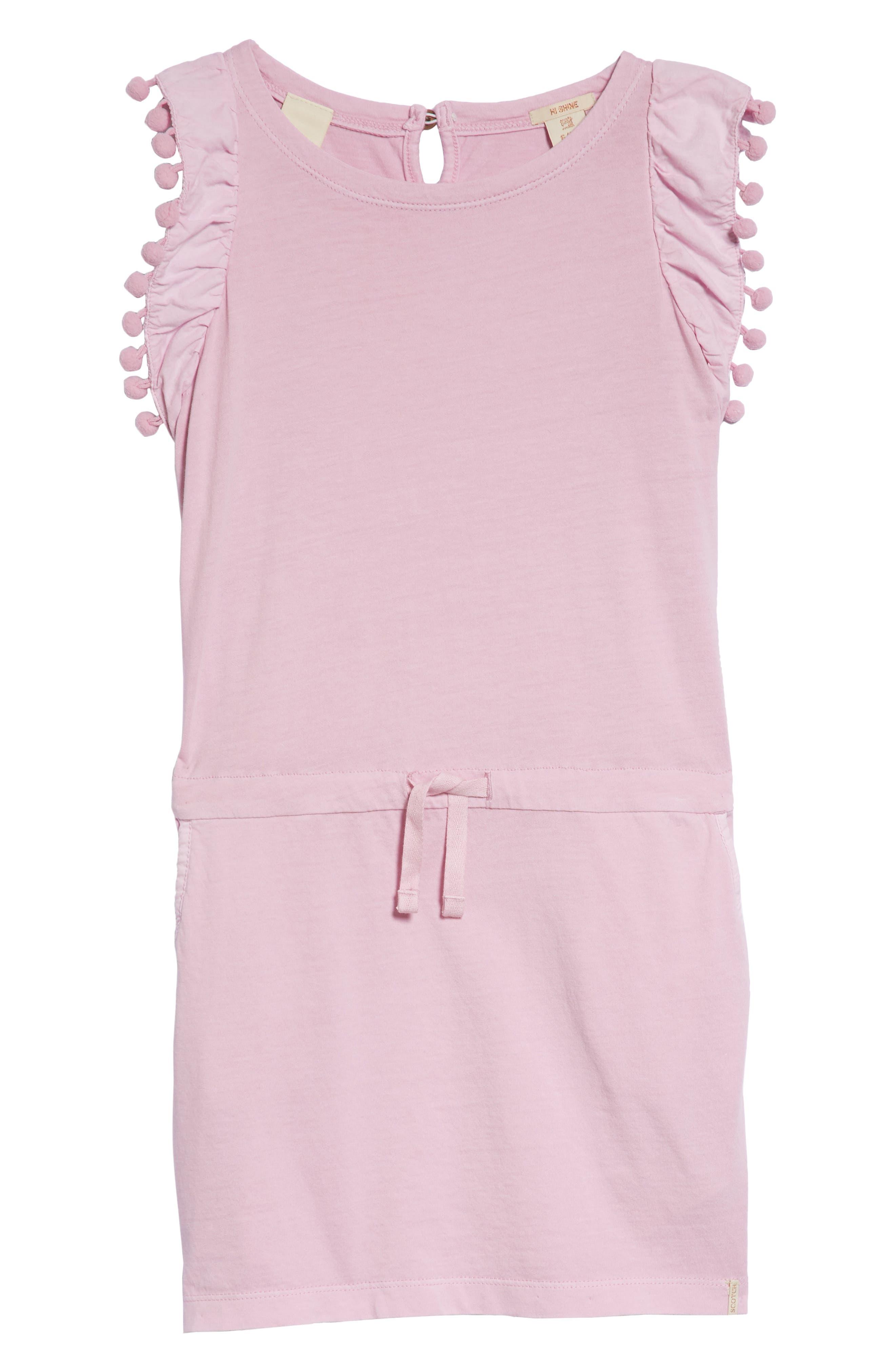 Ruffle Jersey Dress,                         Main,                         color, 650