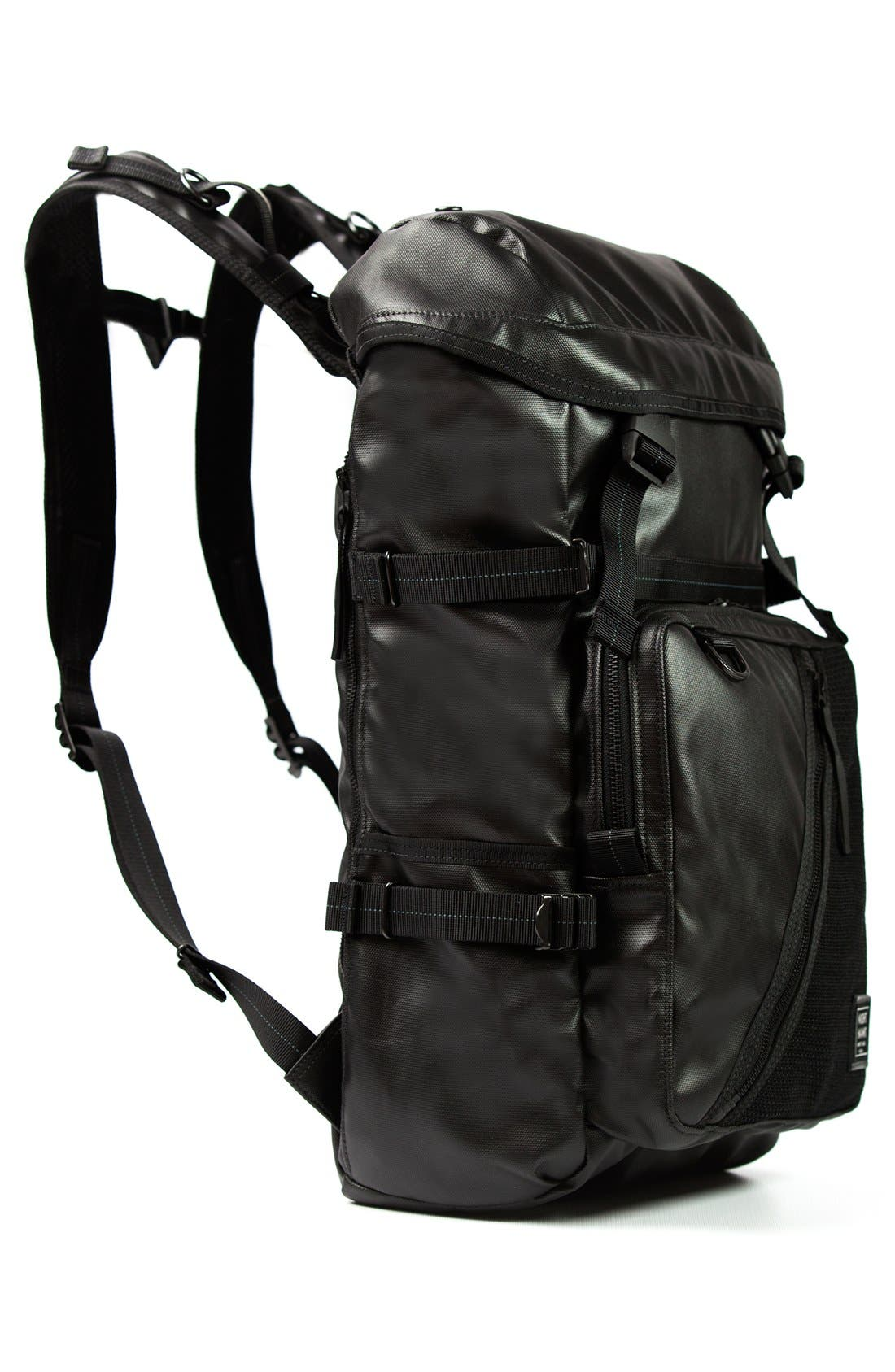 'NightHawk' Backpack,                             Alternate thumbnail 5, color,                             BLACK