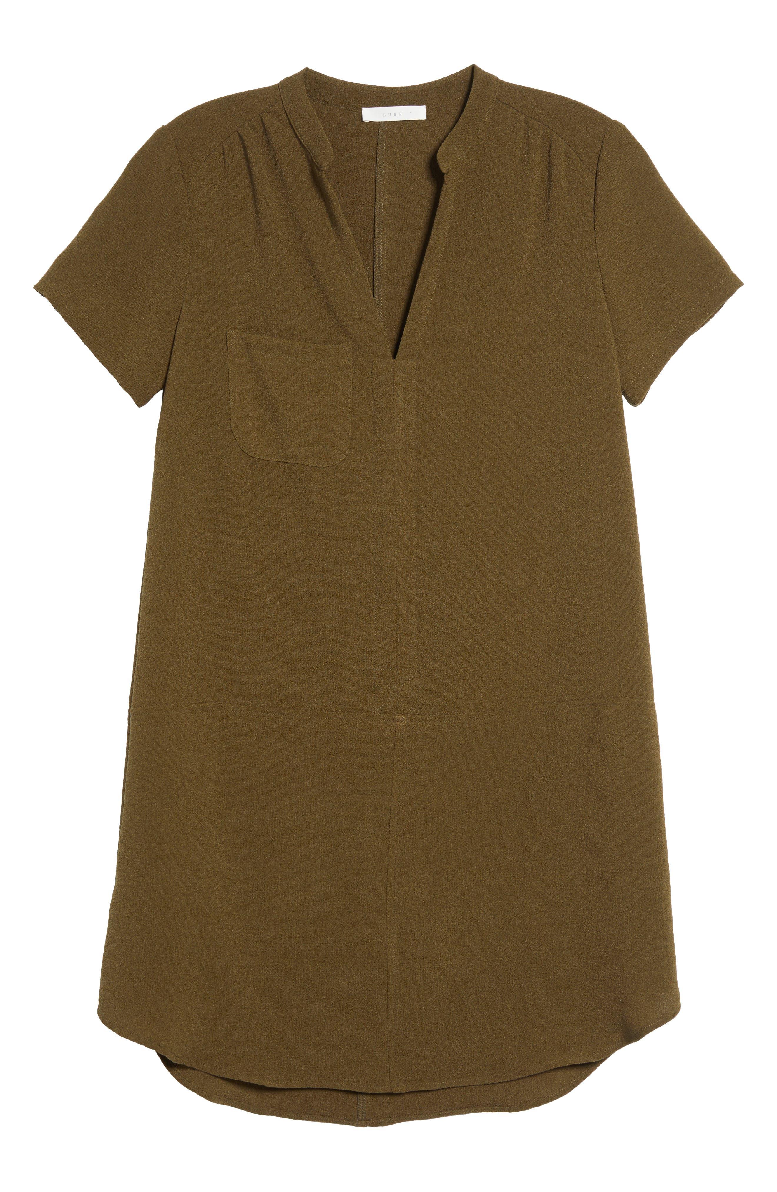 Hailey Crepe Dress,                             Alternate thumbnail 166, color,