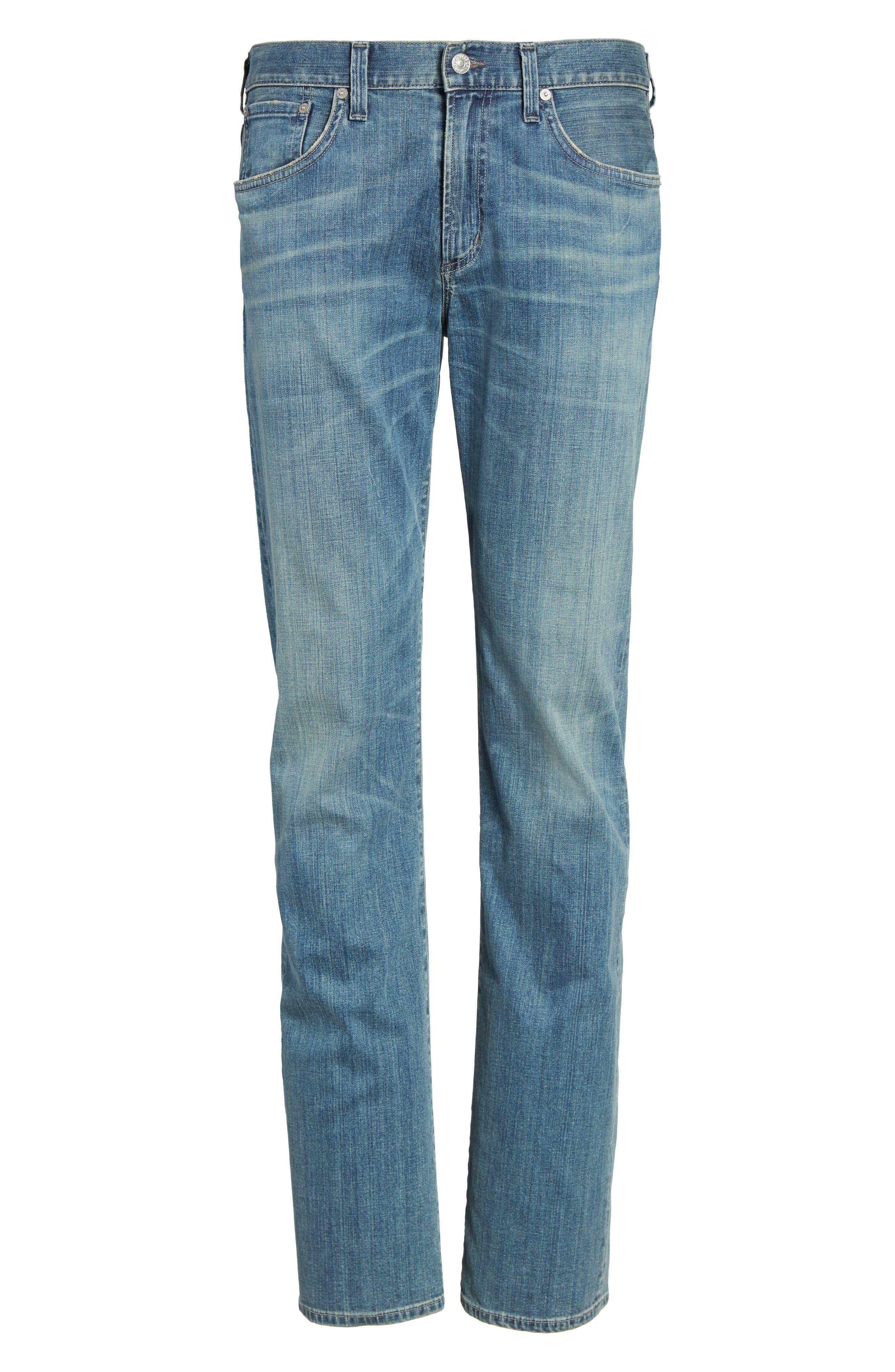 Sid Straight Leg Jeans,                             Alternate thumbnail 6, color,                             423