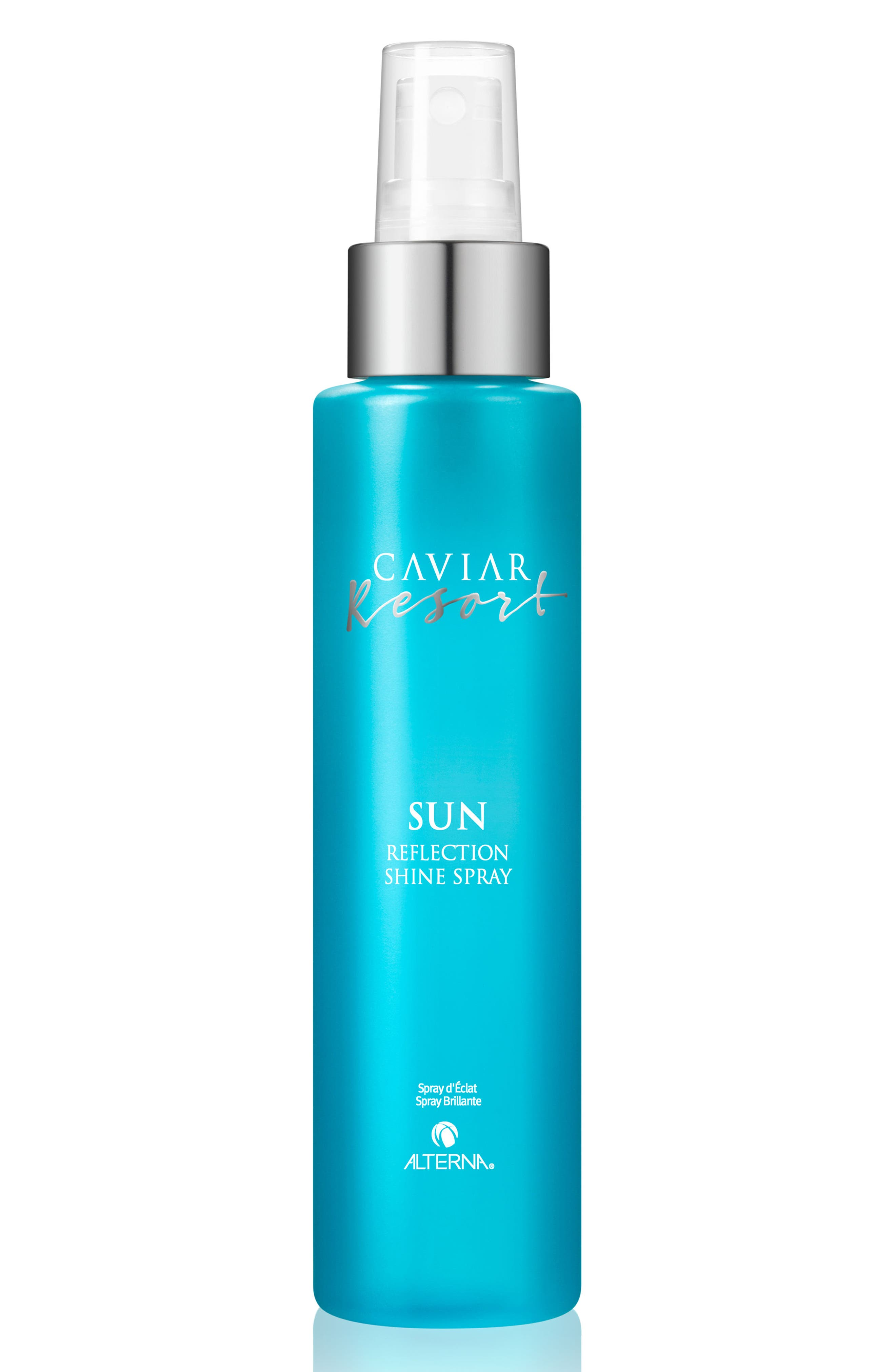 Caviar Resort Sun Reflection Shine Spray,                             Main thumbnail 1, color,                             NO COLOR