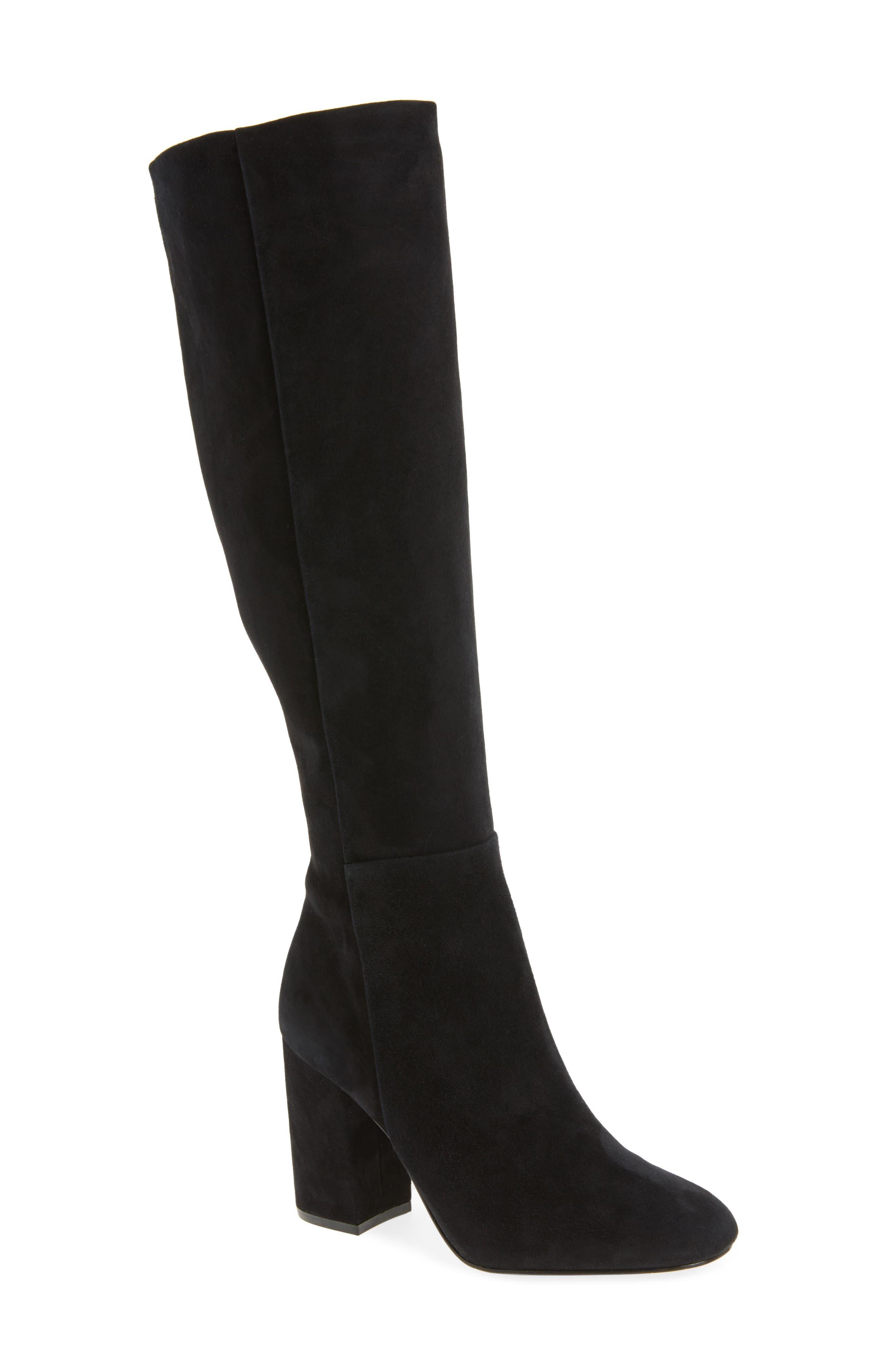 Clarissa Knee High Boot, Main, color, 001