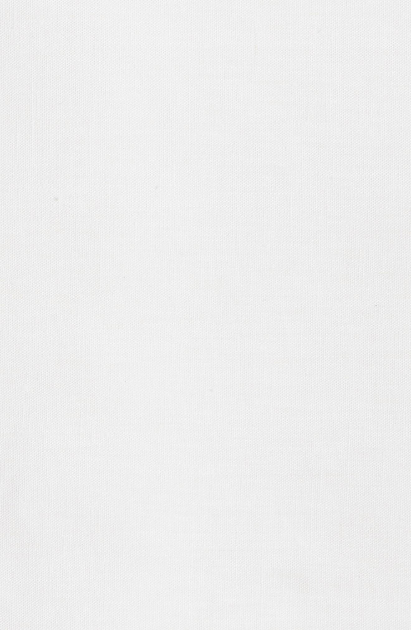 Solo Linen Flat Sheet,                             Alternate thumbnail 2, color,                             100