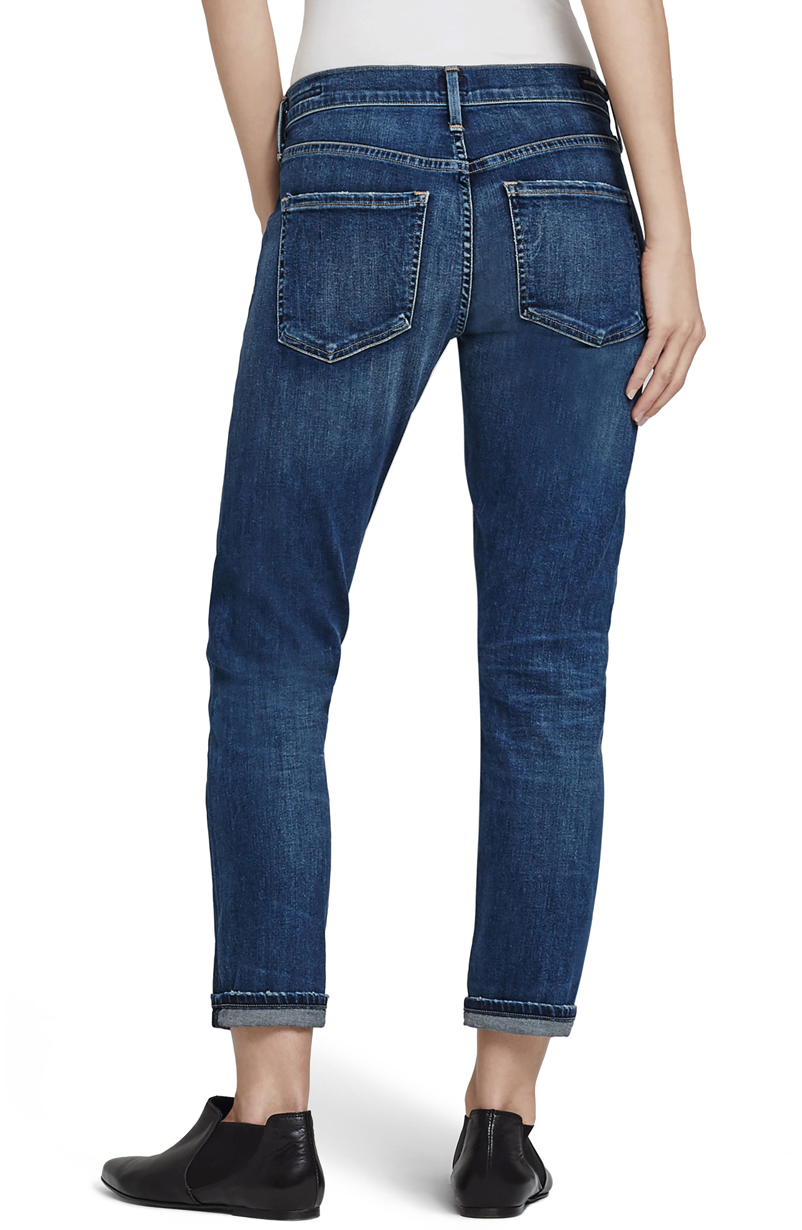Emerson Slim Boyfriend Jeans,                             Alternate thumbnail 2, color,                             462