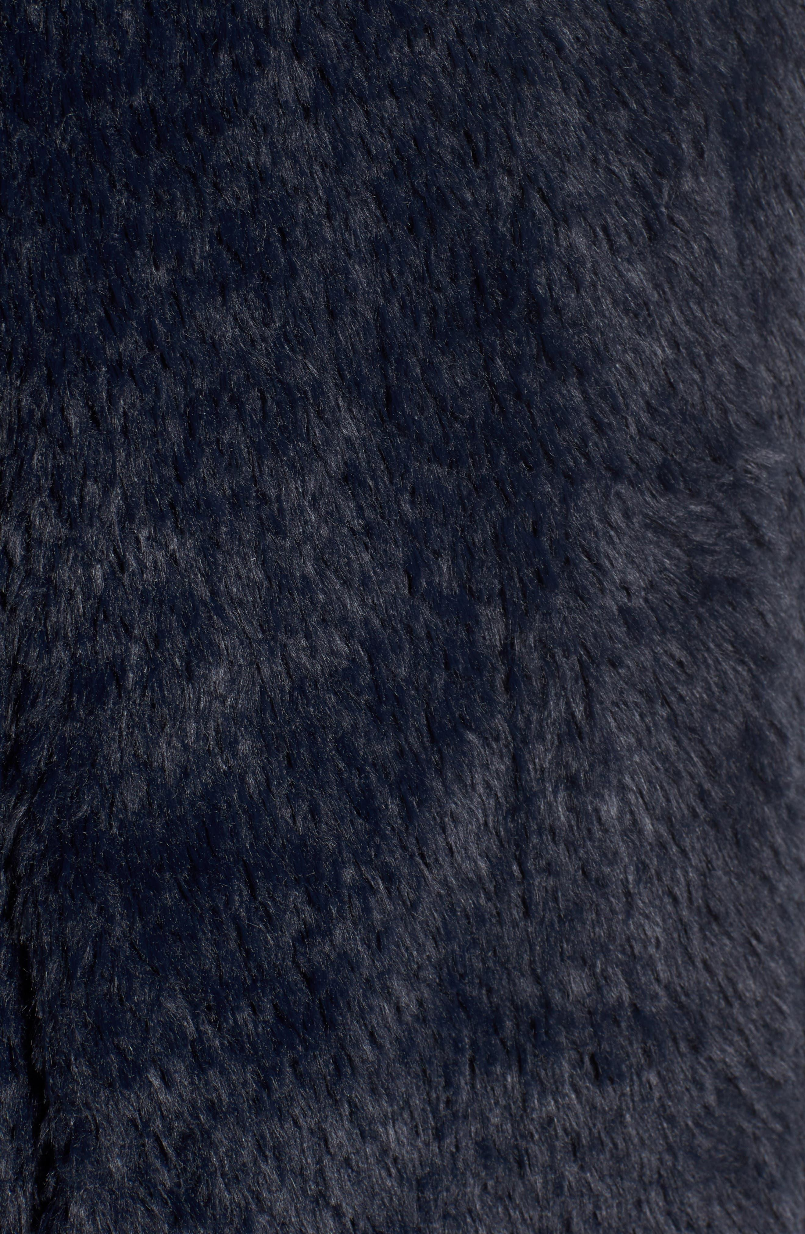 Faux Fur Jacket,                             Alternate thumbnail 33, color,