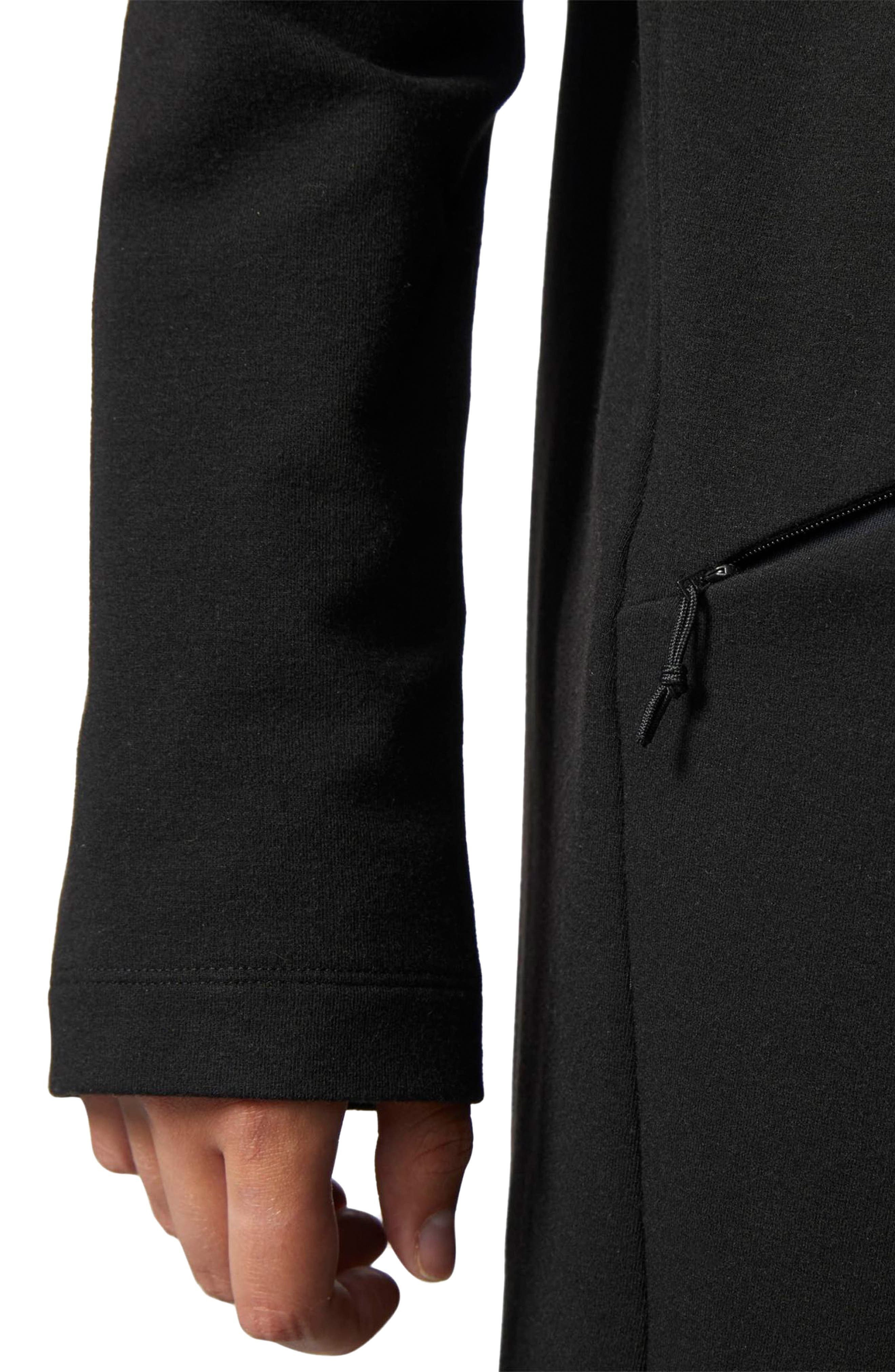 Performance Cover Up Jacket,                             Alternate thumbnail 4, color,                             001