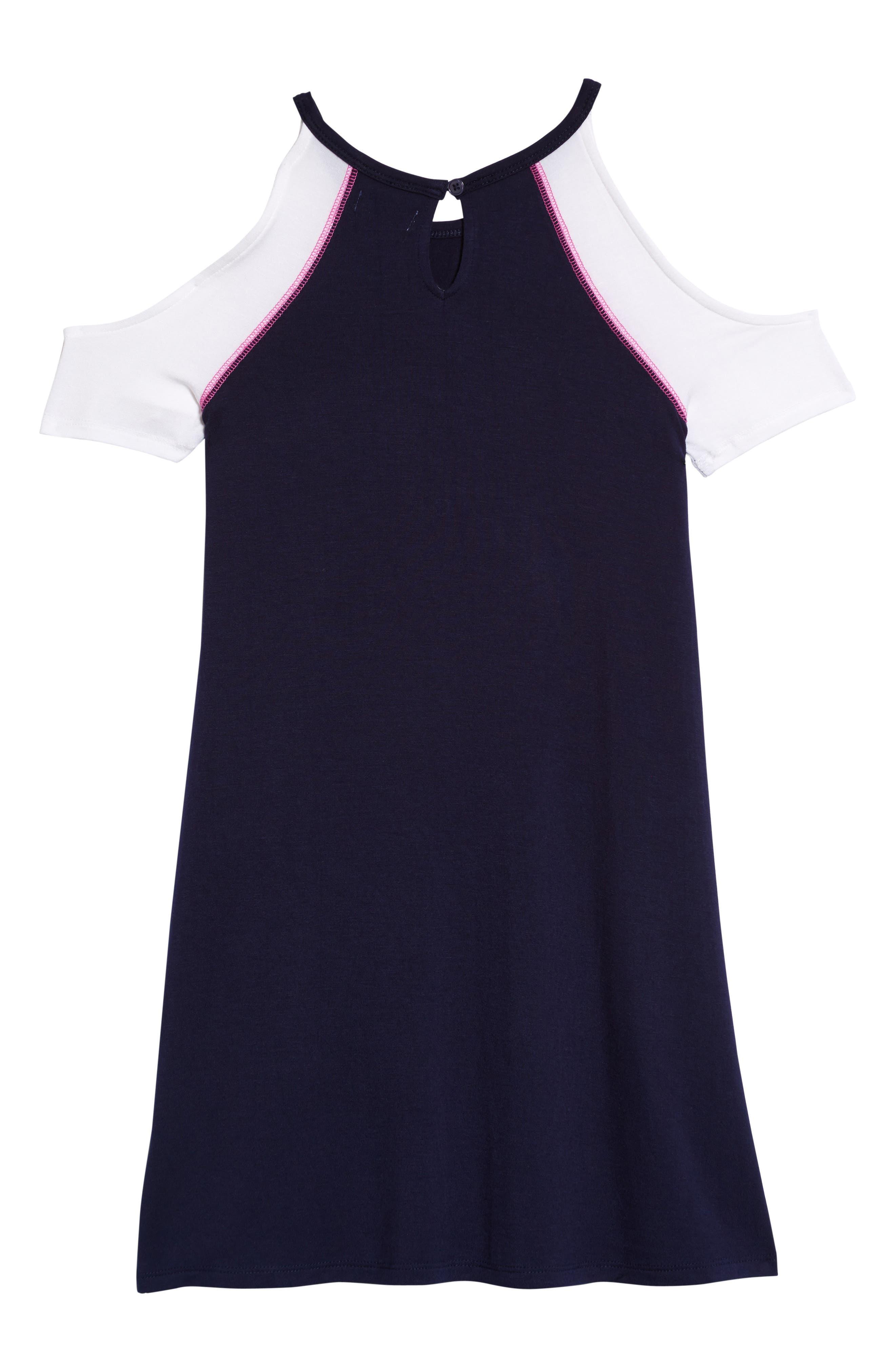 Cold Shoulder Dress,                             Alternate thumbnail 2, color,                             410