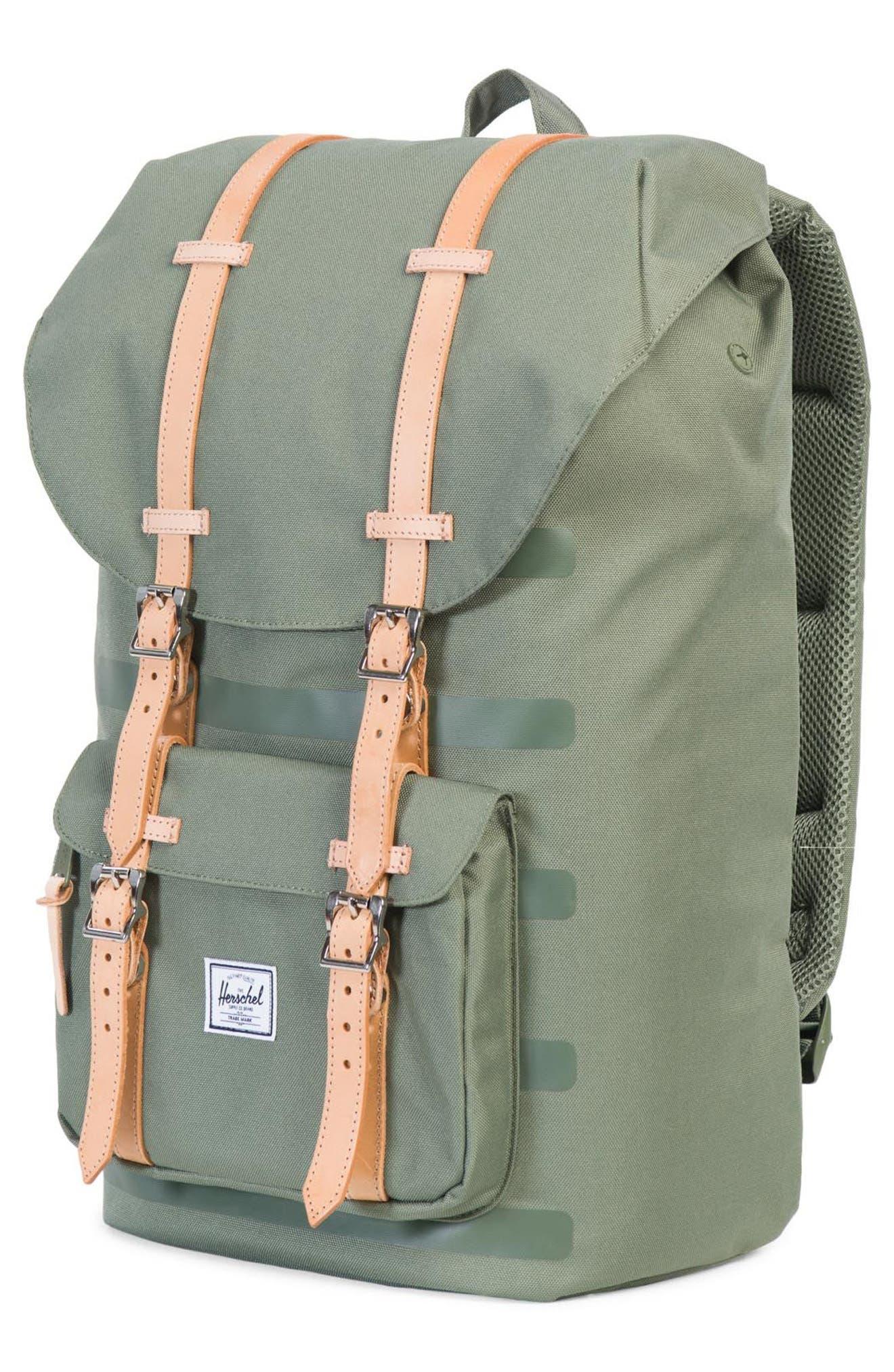 Little America Offset Backpack,                             Alternate thumbnail 4, color,                             362