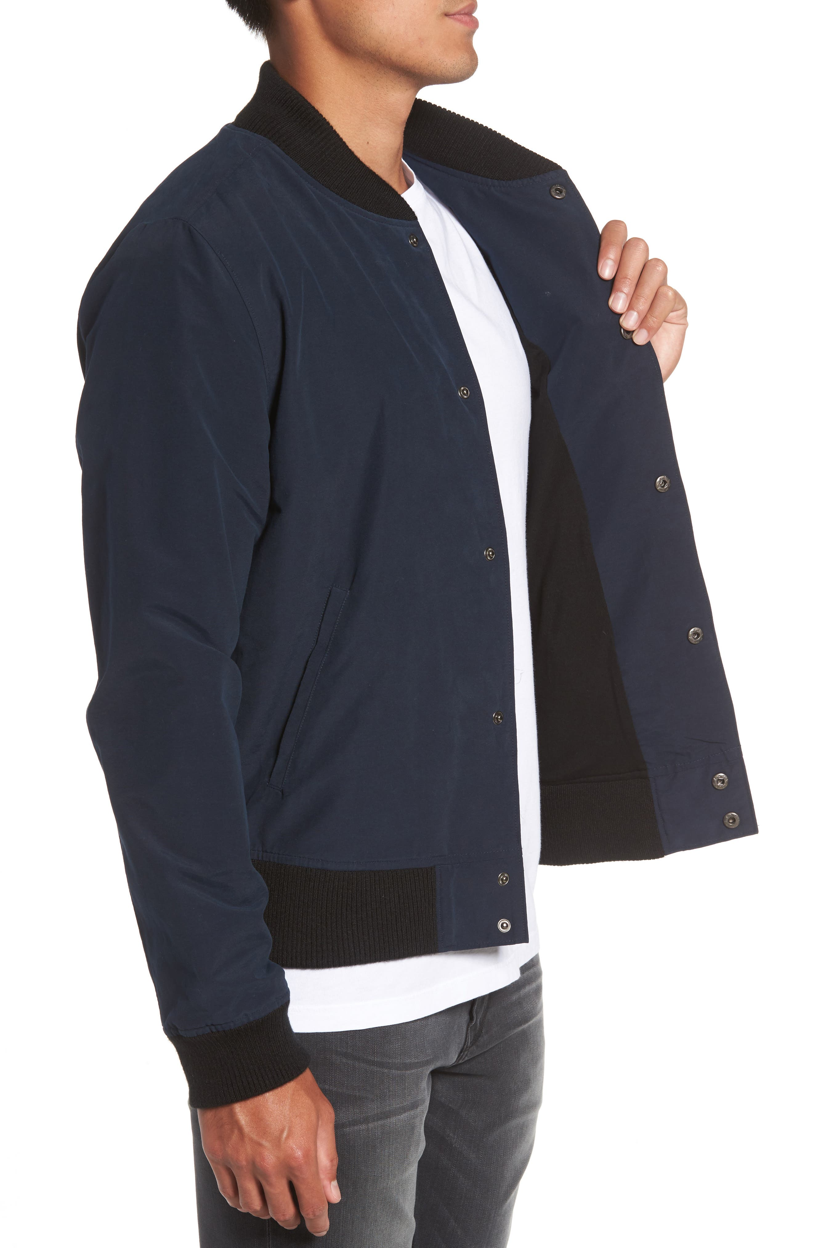 Elliot Bomber Jacket,                             Alternate thumbnail 3, color,                             410