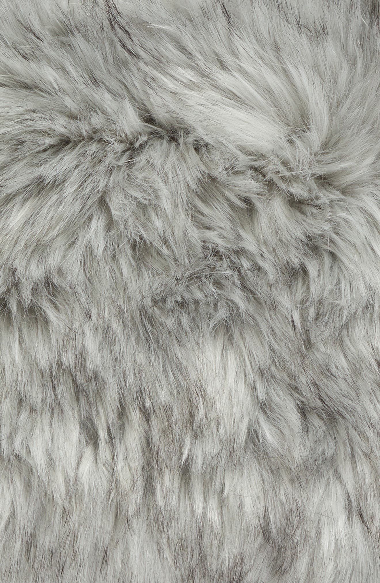 Faux Fur Accent Pillow,                             Alternate thumbnail 3, color,                             020
