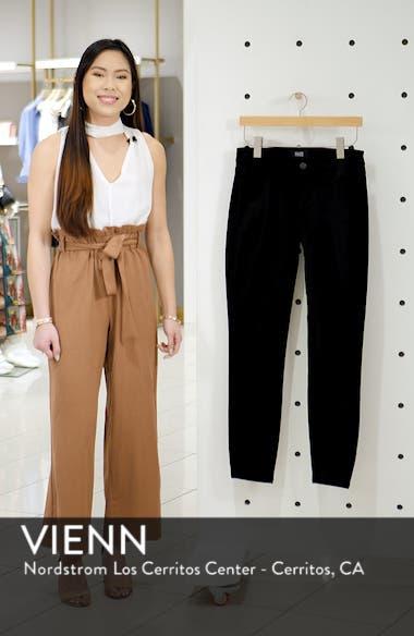 Verdugo Ultra Skinny Velvet Pants, sales video thumbnail