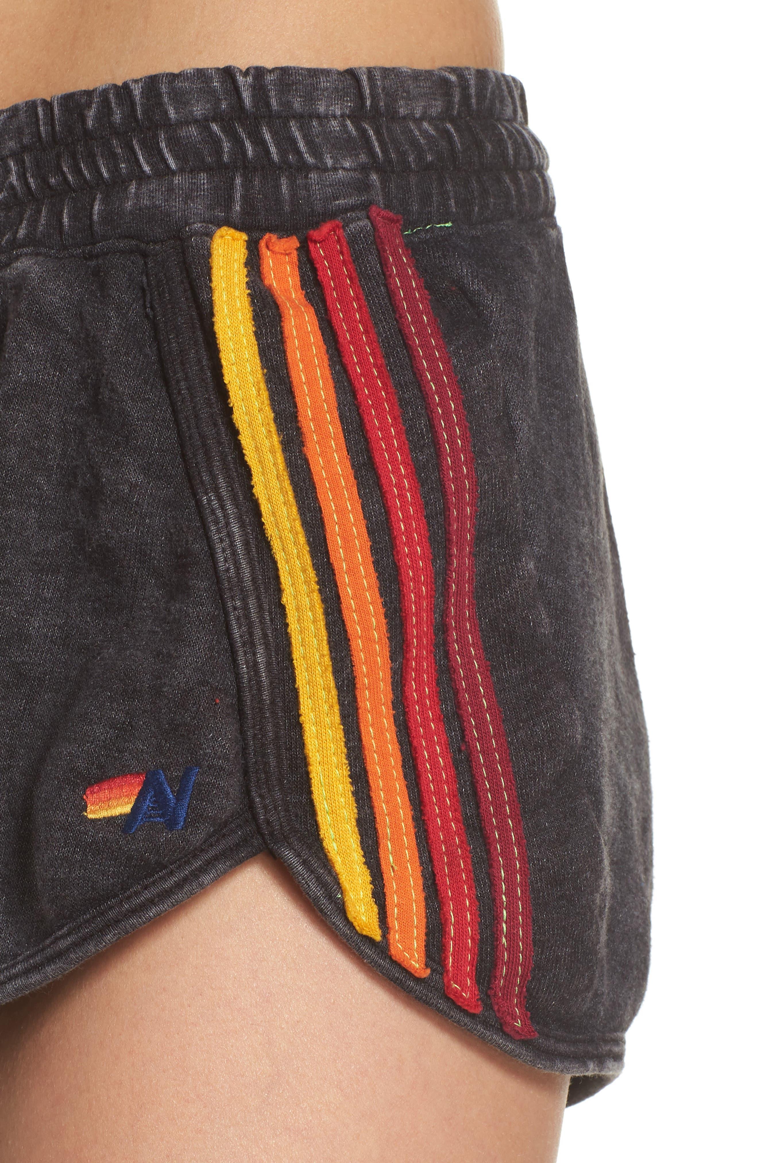 Five Stripe Shorts,                             Alternate thumbnail 4, color,                             060