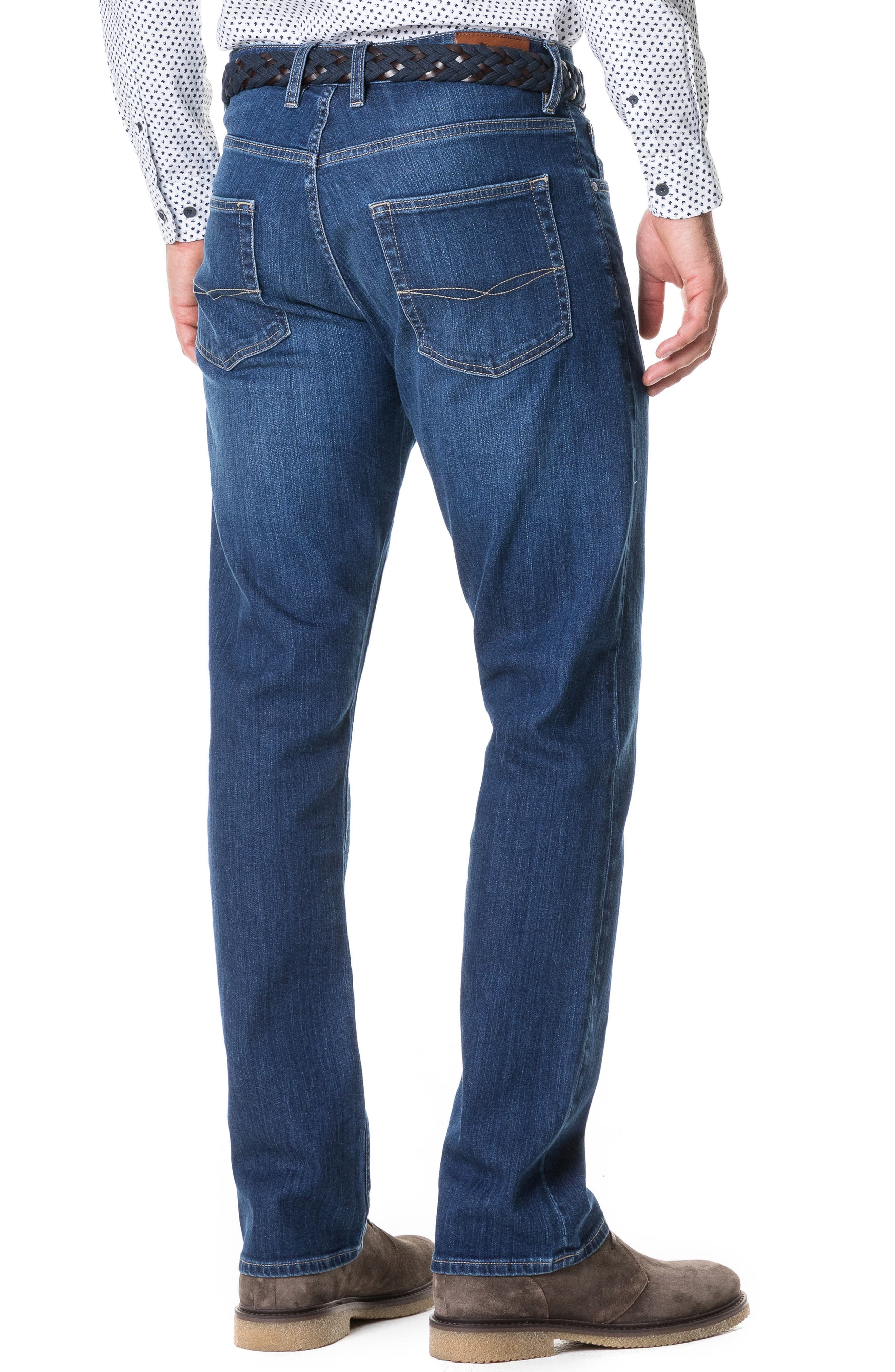 Byron Relaxed Fit Jeans,                             Alternate thumbnail 2, color,                             DENIM