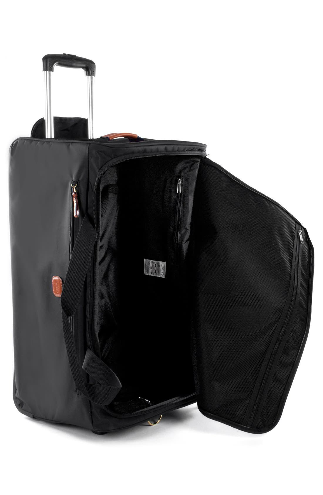 X-Bag 28-Inch Rolling Duffel Bag,                             Alternate thumbnail 2, color,                             BLACK