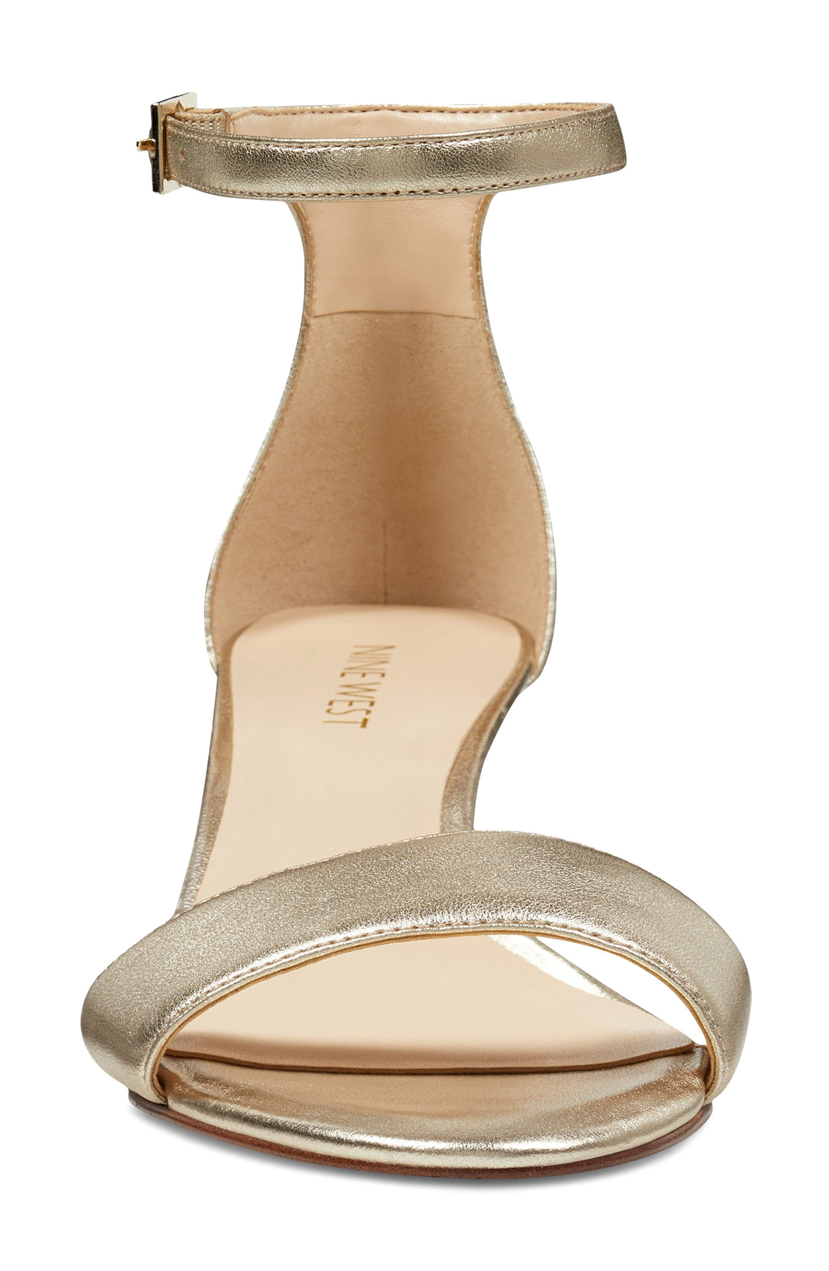 'Leisa' Ankle Strap Sandal,                             Alternate thumbnail 4, color,                             711