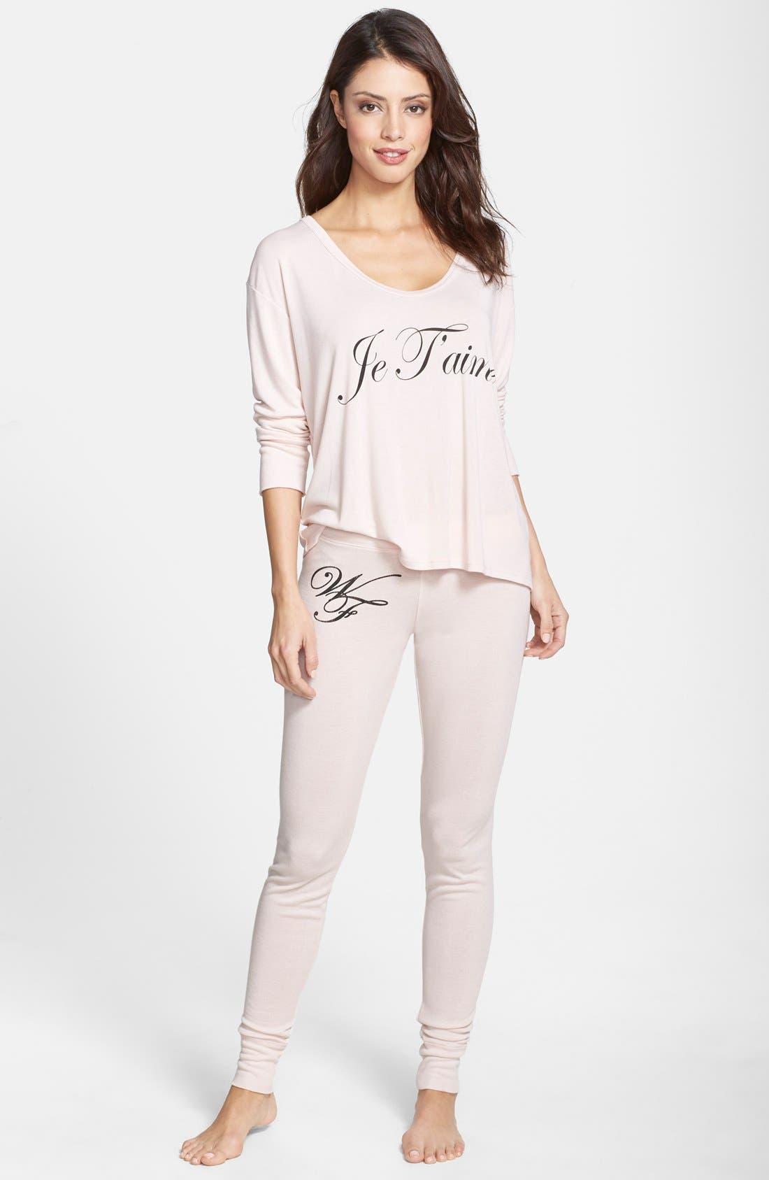 Pajama Set, Main, color, BLUSH