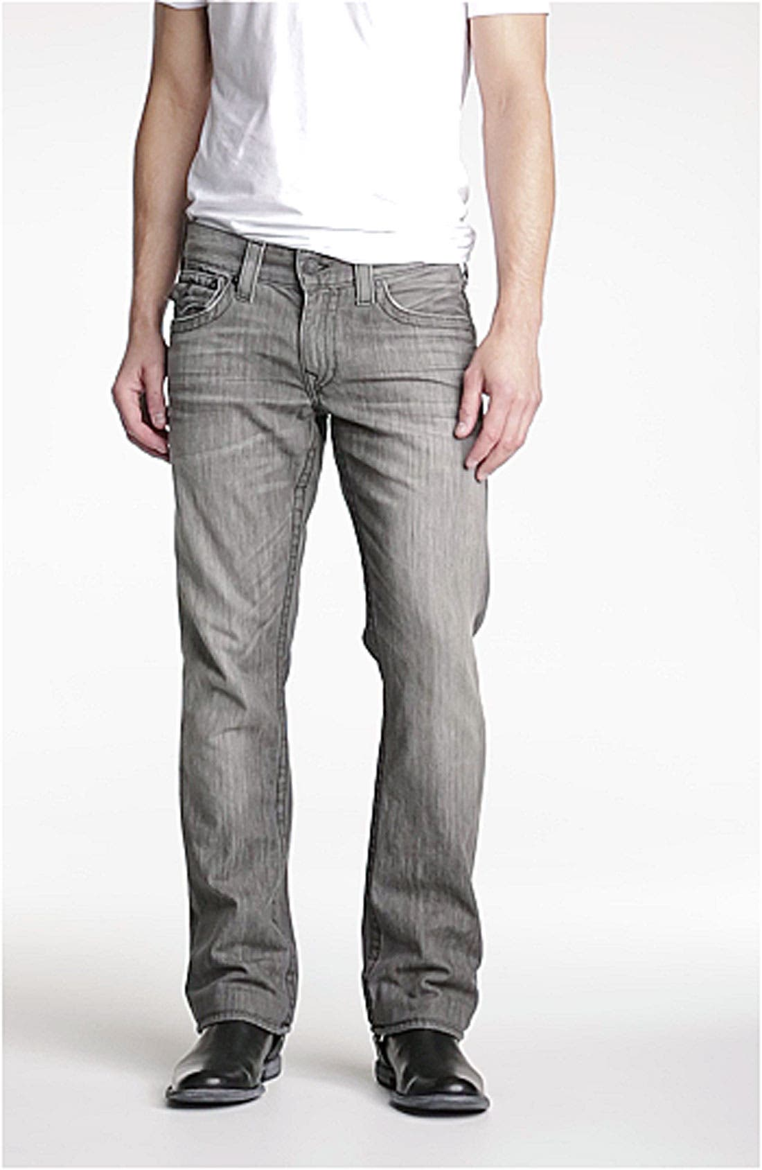 'Ricky' Relaxed Fit Jeans,                             Alternate thumbnail 6, color,