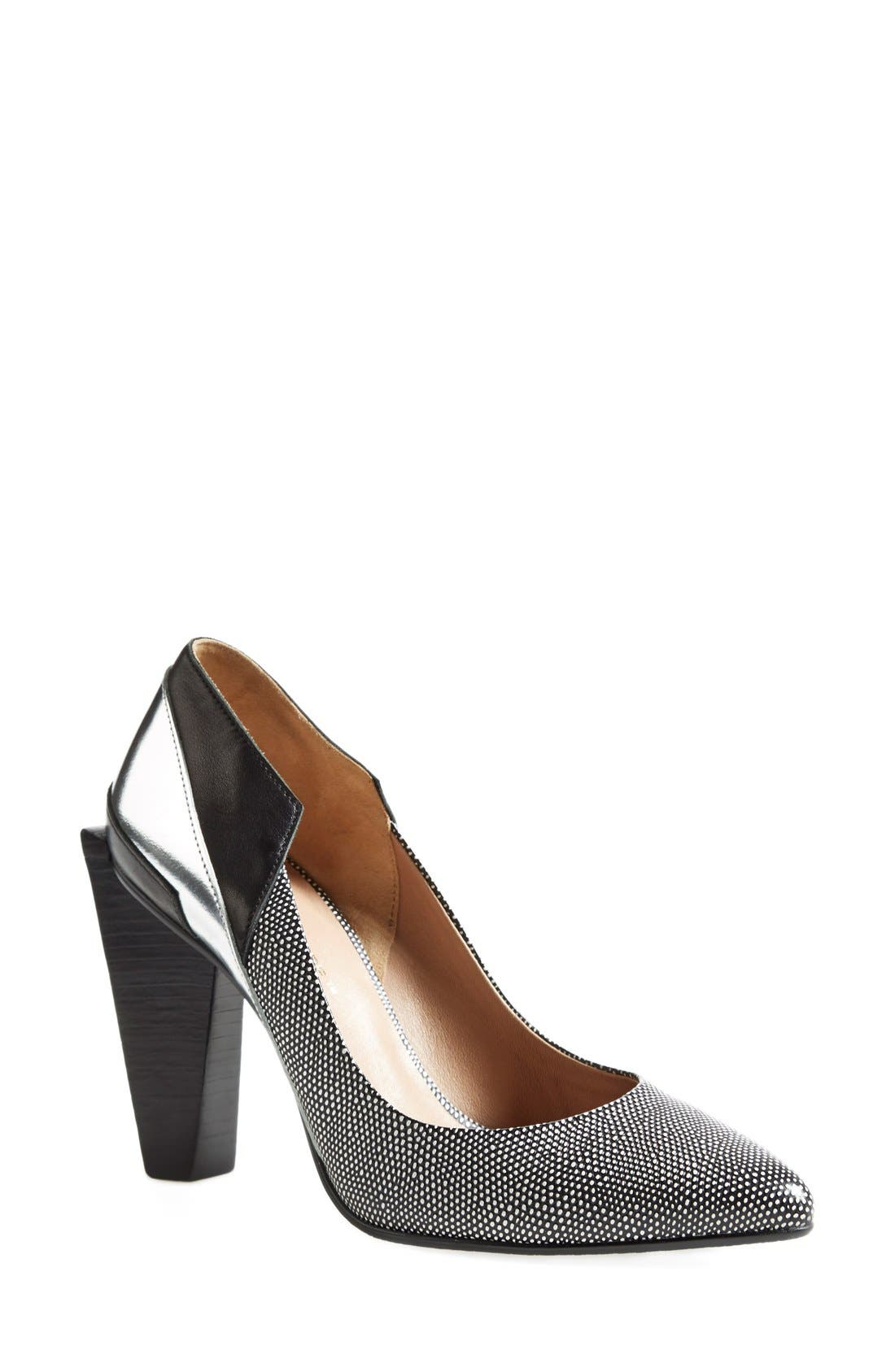 UNITED NUDE COLLECTION,                             'Ruby Hi' Pump,                             Main thumbnail 1, color,                             006