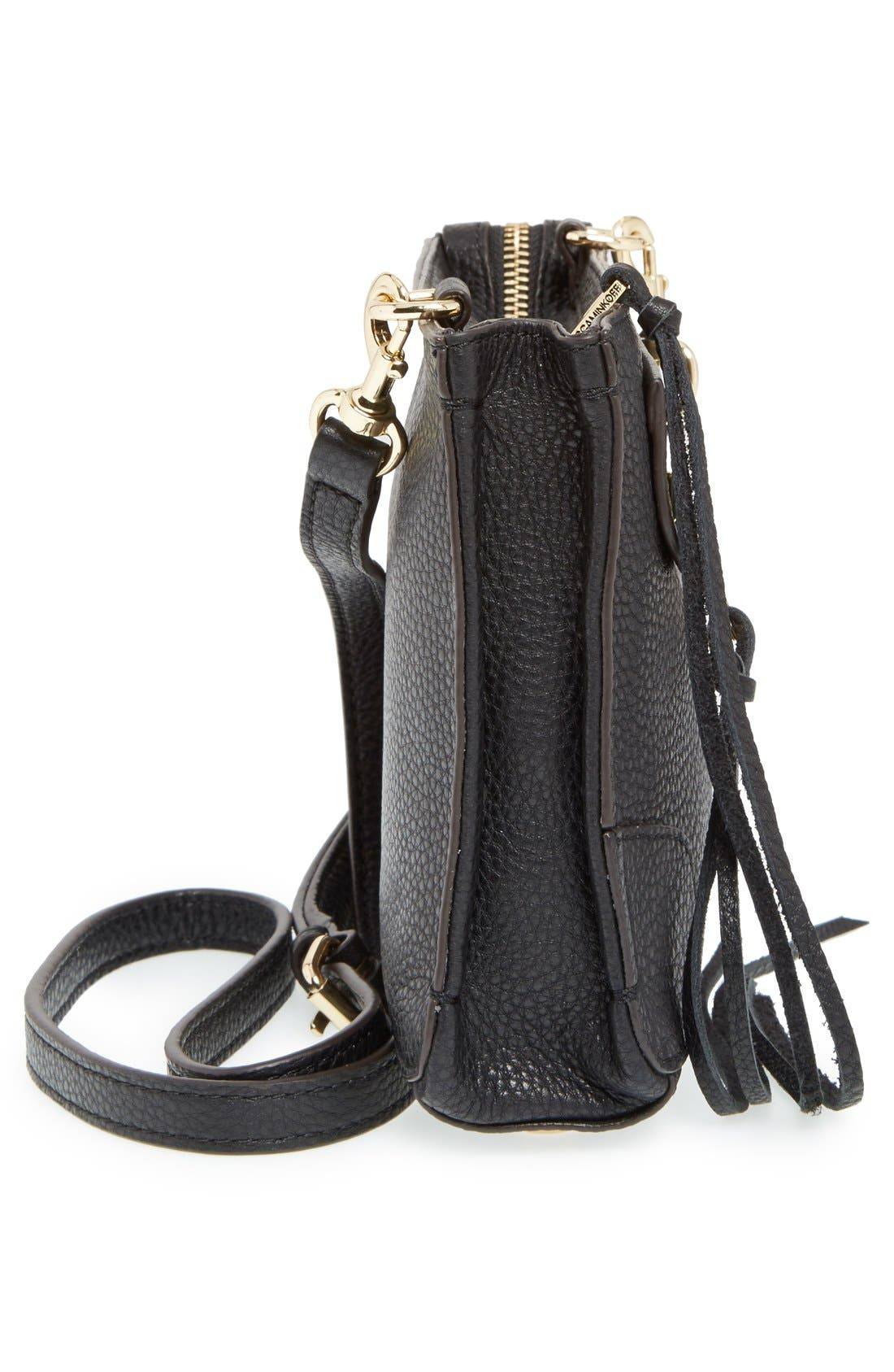 'Regan' Crossbody Bag,                             Alternate thumbnail 2, color,                             001
