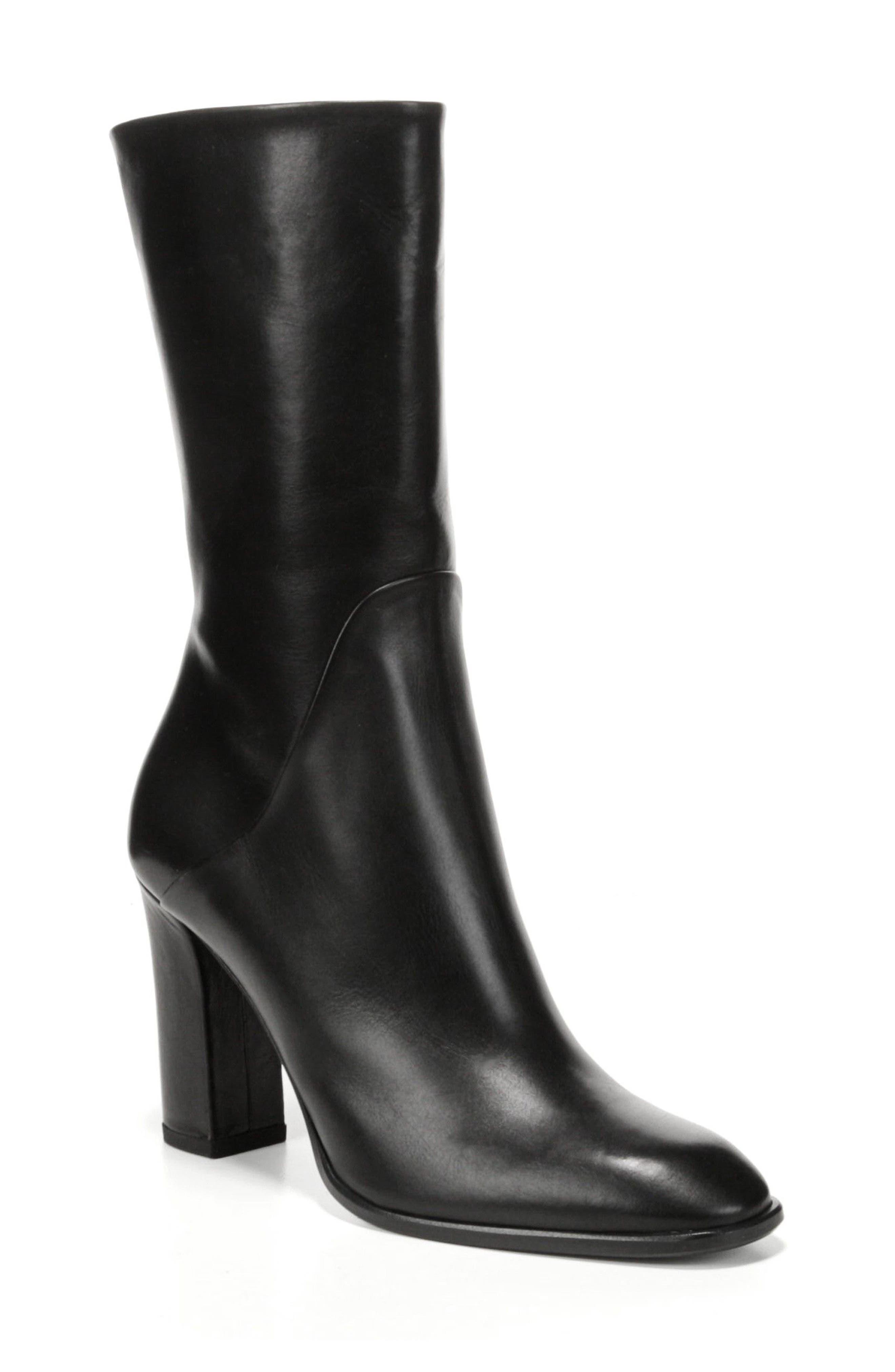 Adrinna Mid Calf Boot,                         Main,                         color, 001
