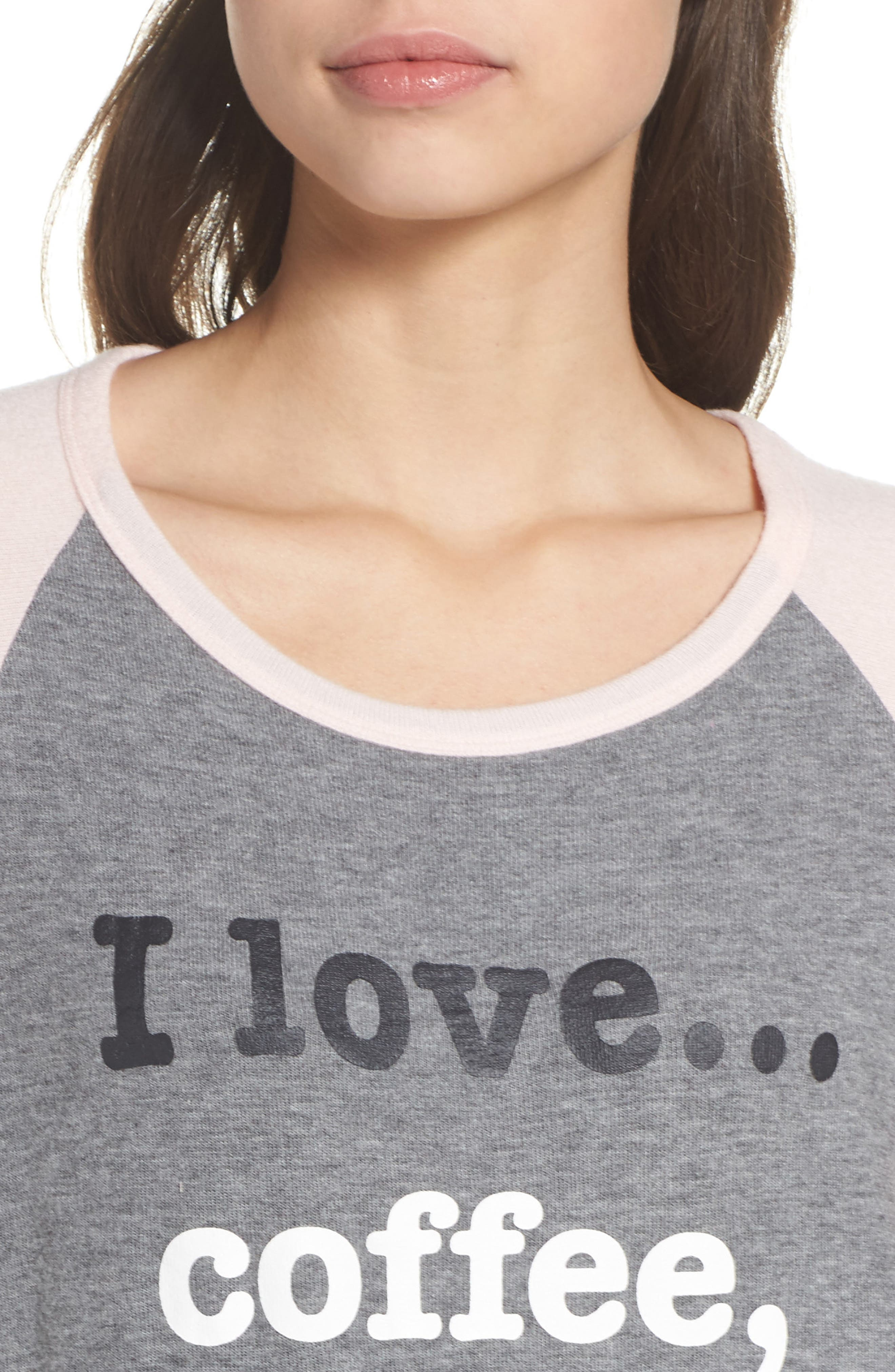 Heart Print Nightshirt,                             Alternate thumbnail 4, color,                             020