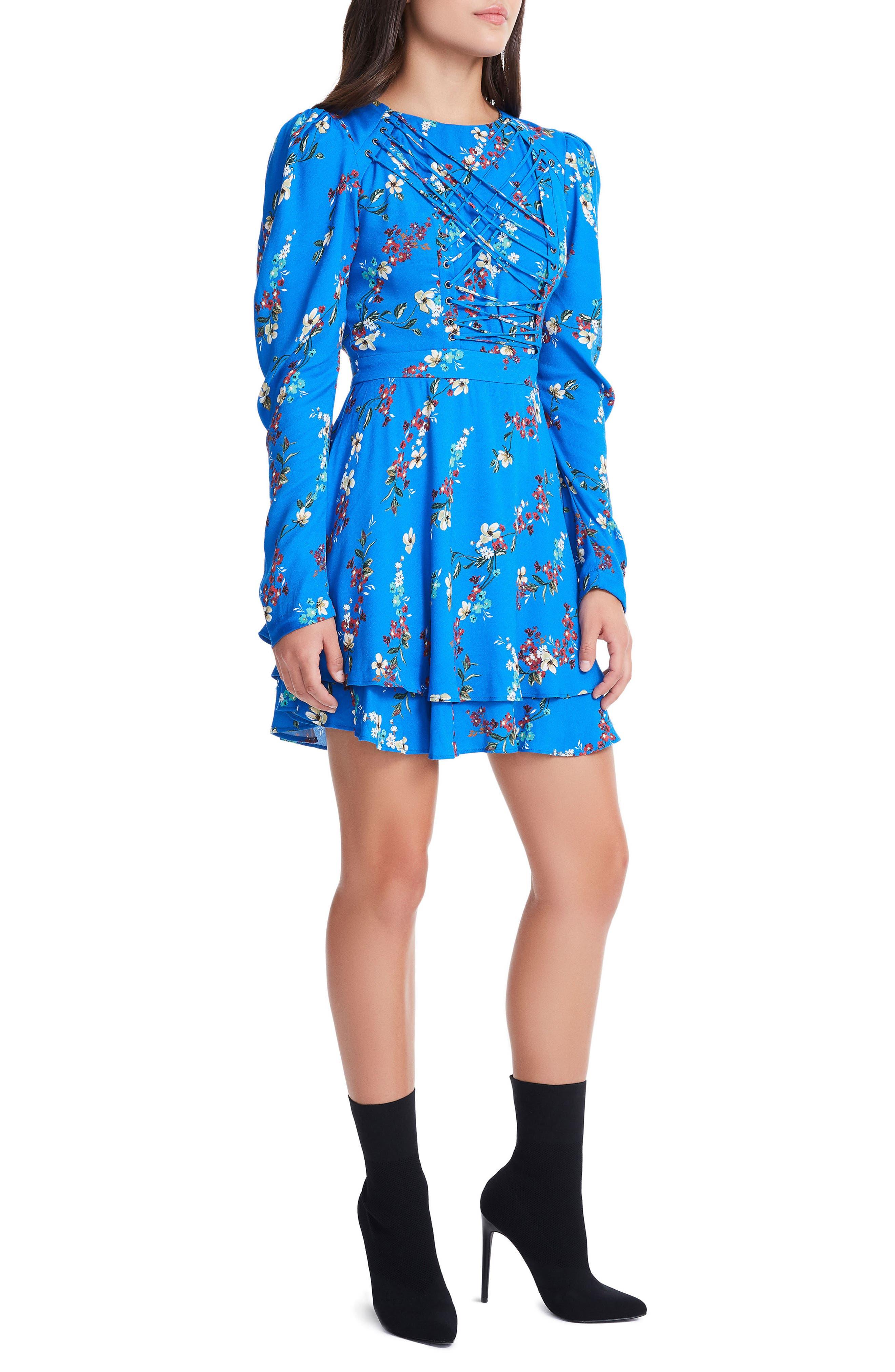Avery Strappy Babydoll Dress,                             Alternate thumbnail 17, color,
