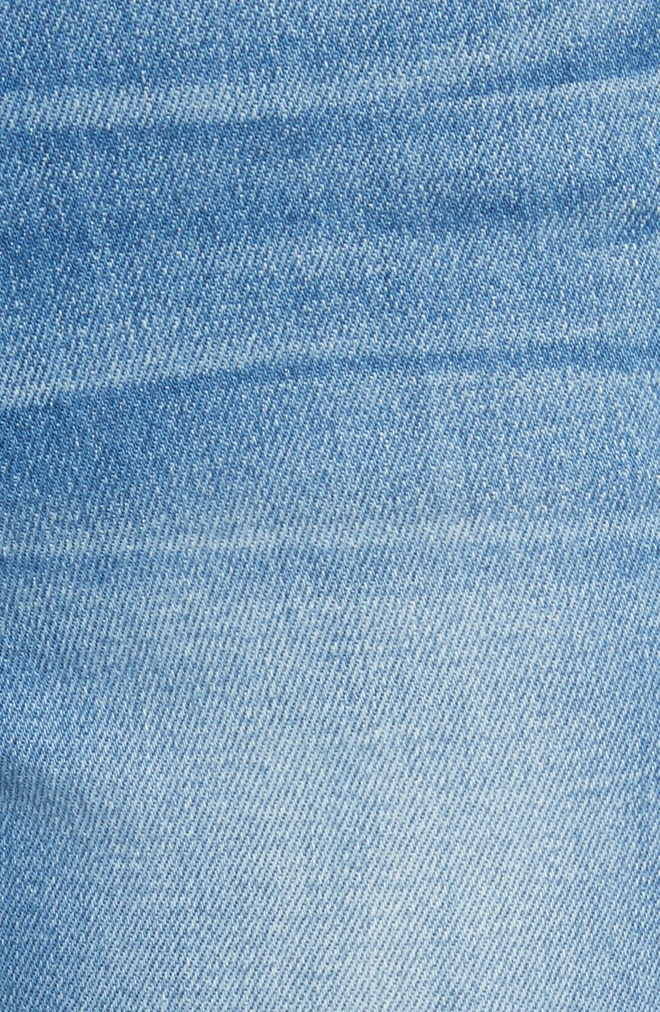 Le High Flare Jeans,                             Alternate thumbnail 6, color,                             BRIGHTWALTON