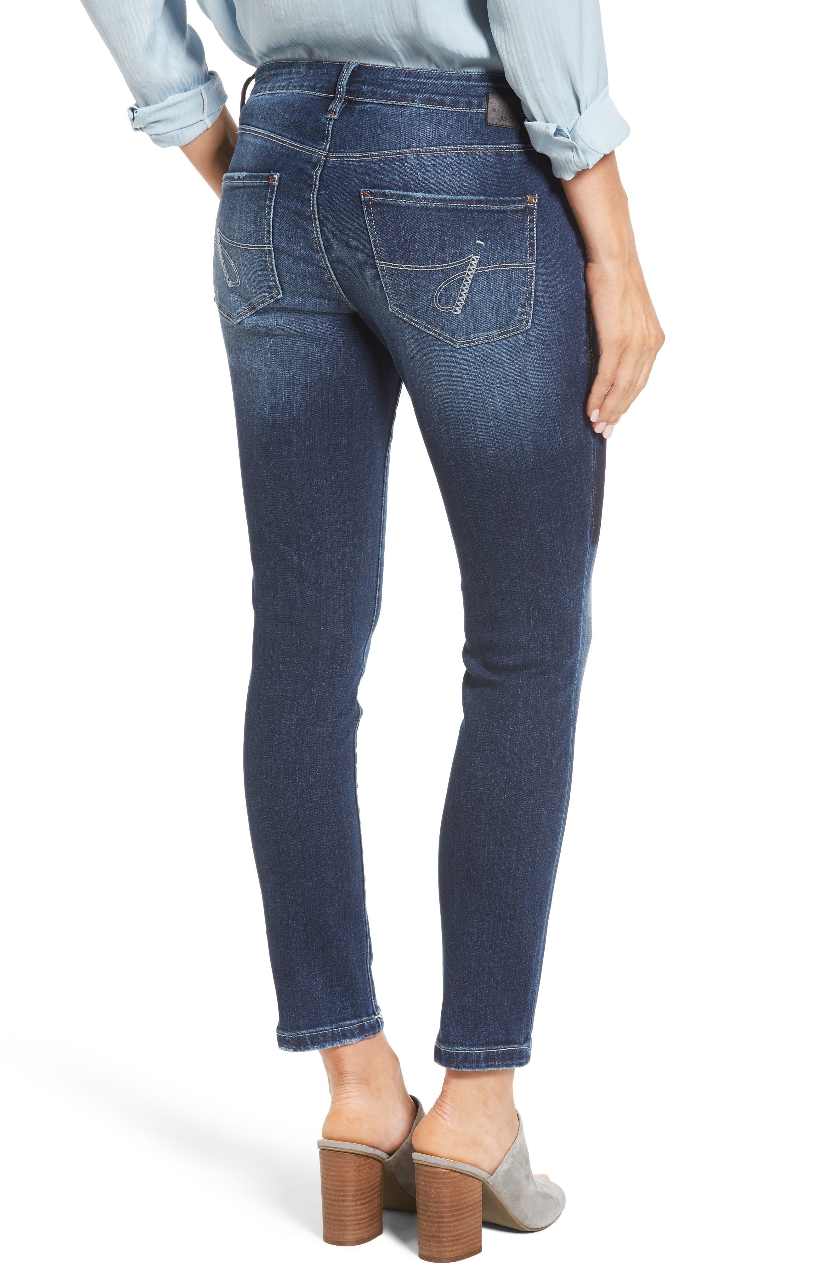 Mera Skinny Ankle Jeans,                         Main,                         color, 420
