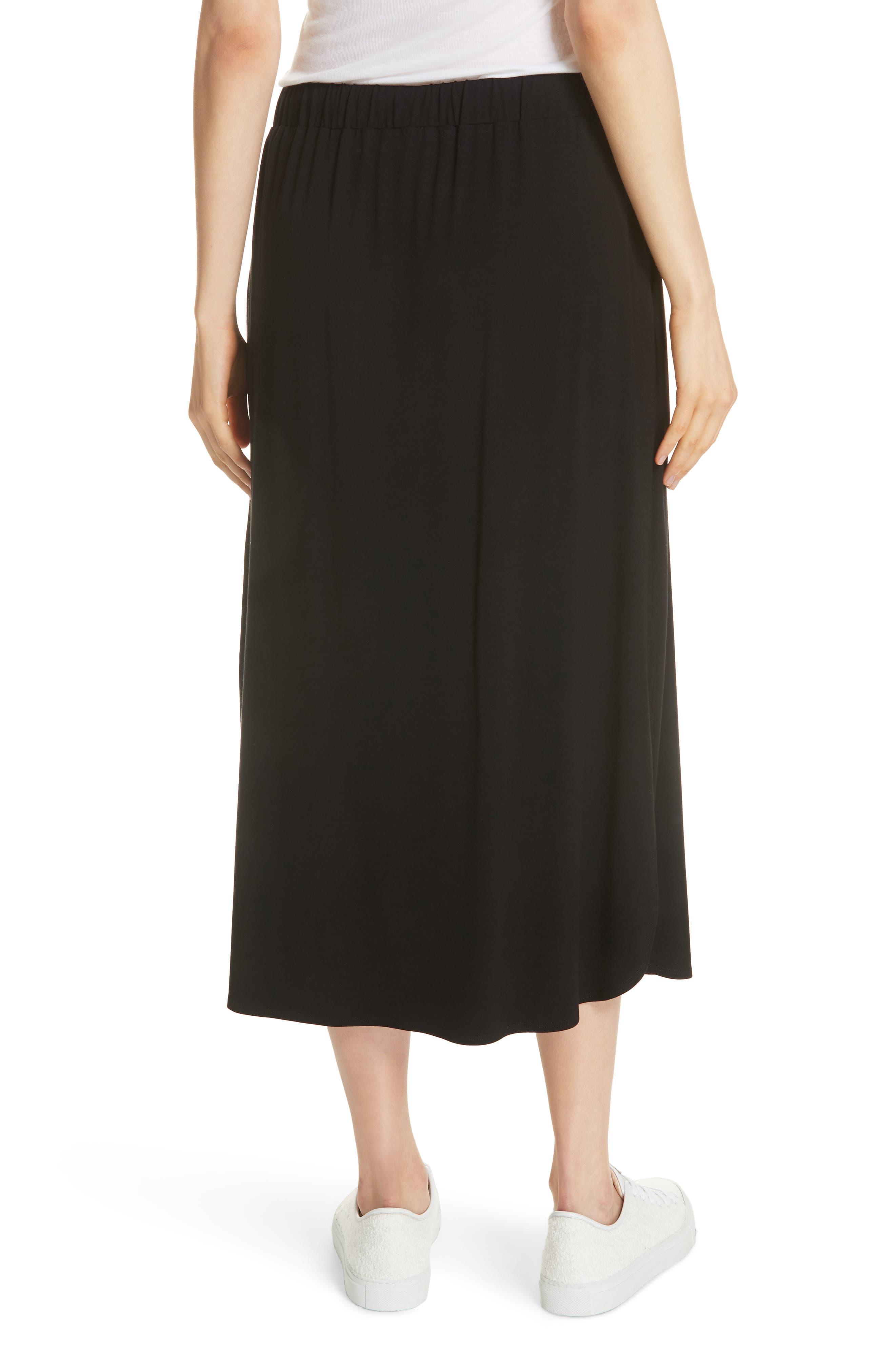 Drawstring Skirt,                             Alternate thumbnail 2, color,                             001