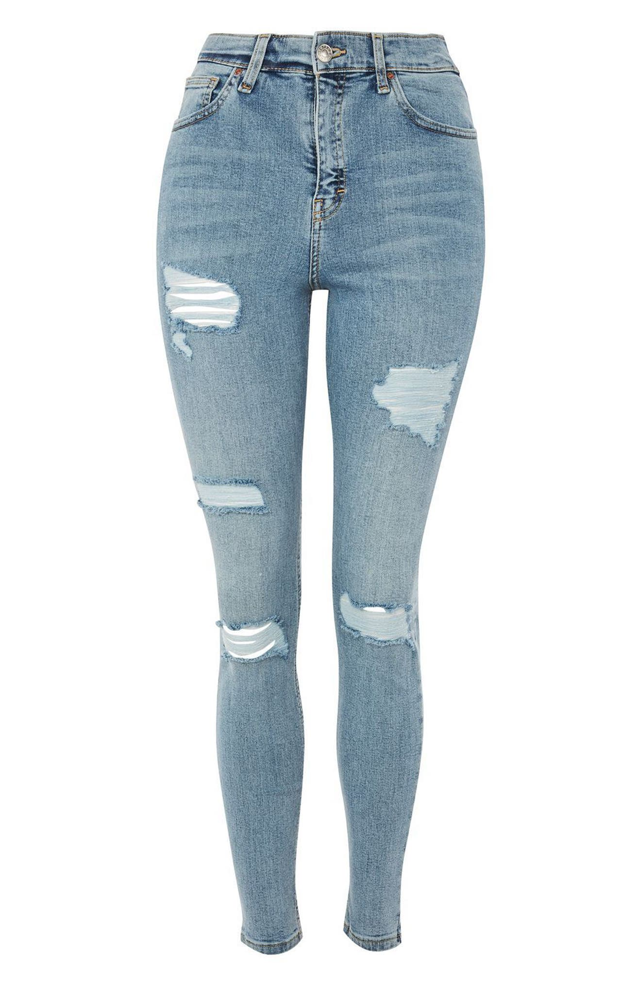 Super Rip Mom Jeans,                             Alternate thumbnail 4, color,                             420