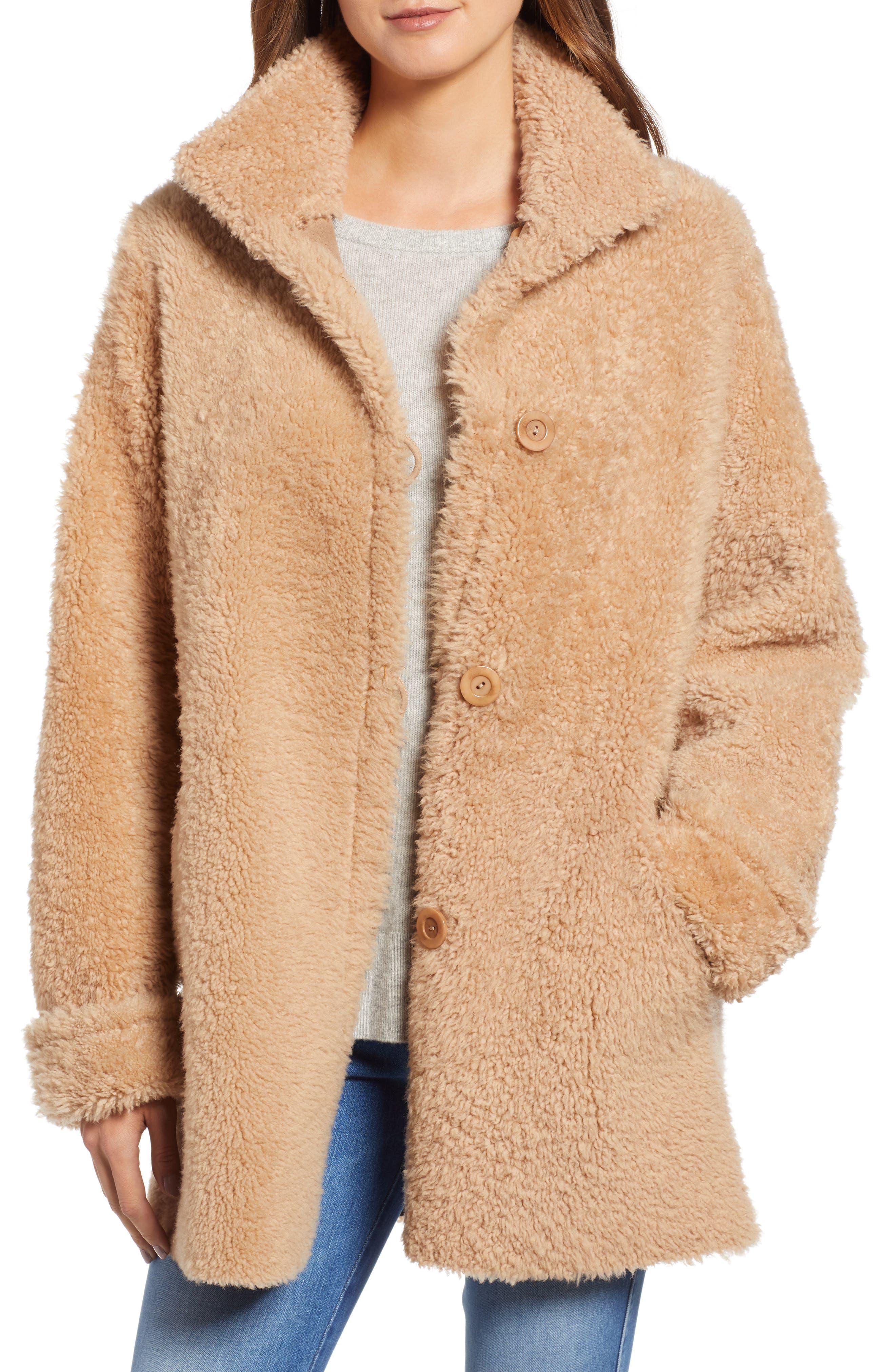 Blue Duck Reversible Genuine Shearling Topper Jacket
