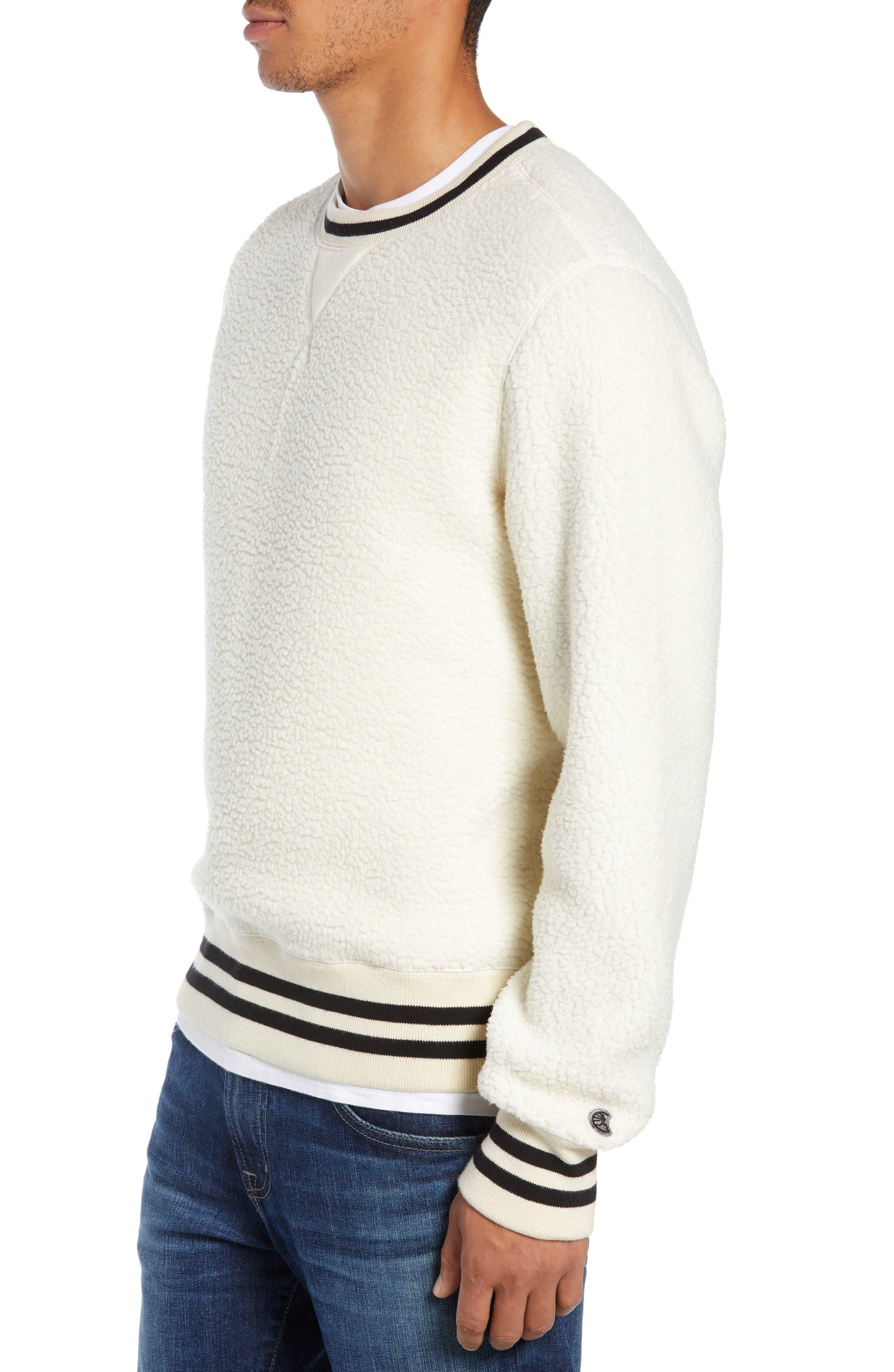 + Champion Fleece Crewneck Sweatshirt,                             Alternate thumbnail 3, color,                             900