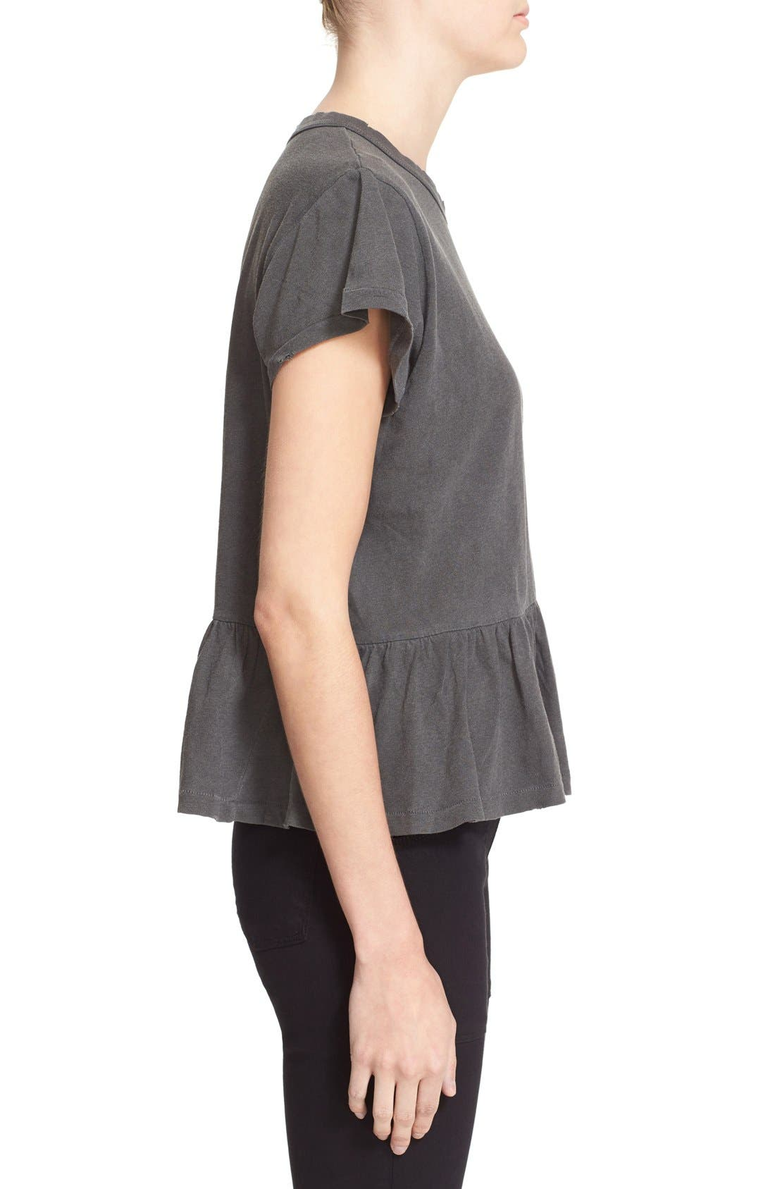 The Ruffle Tee,                             Alternate thumbnail 33, color,