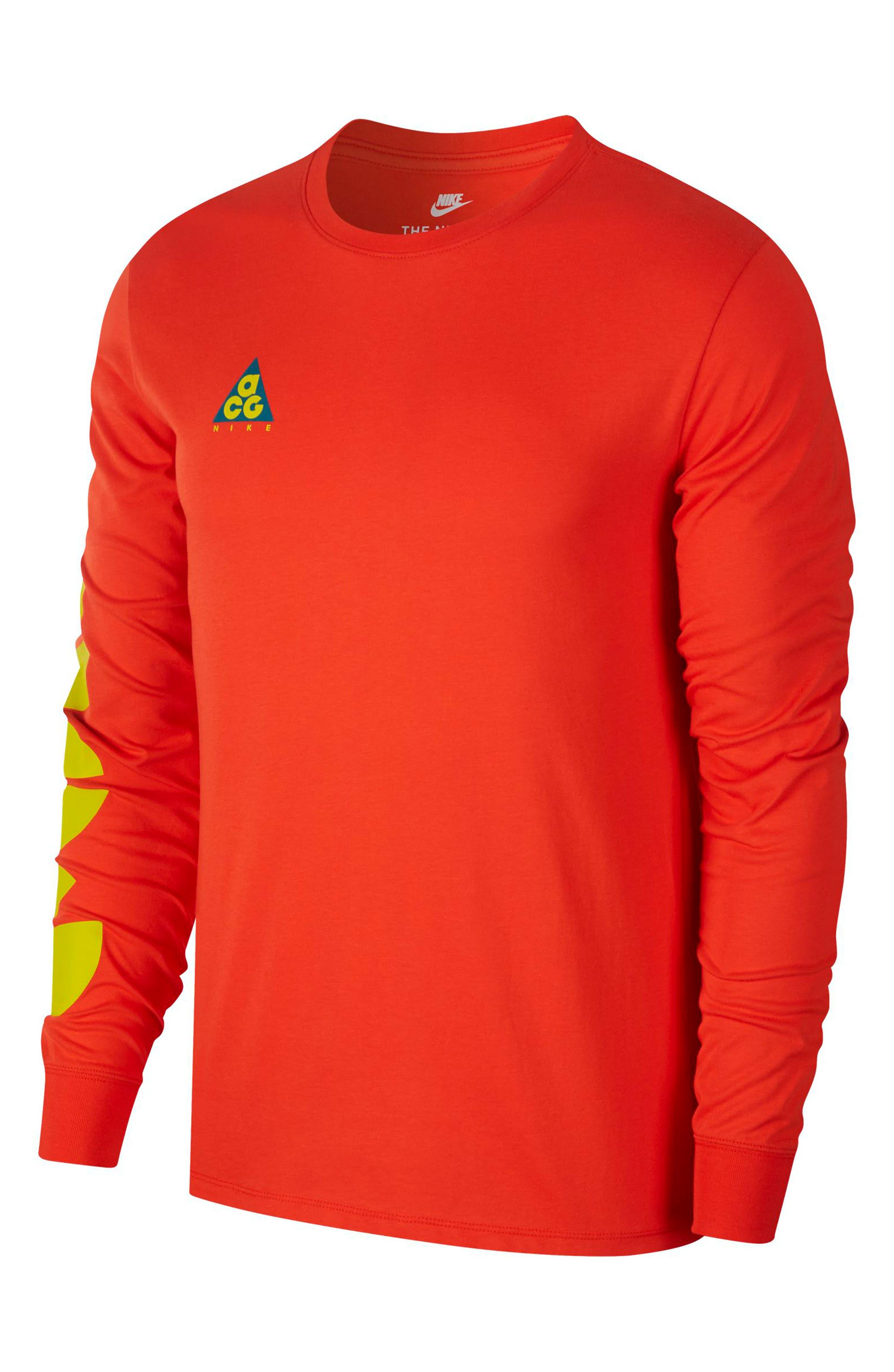 Nike Nsw Acg Graphic T-Shirt, Red