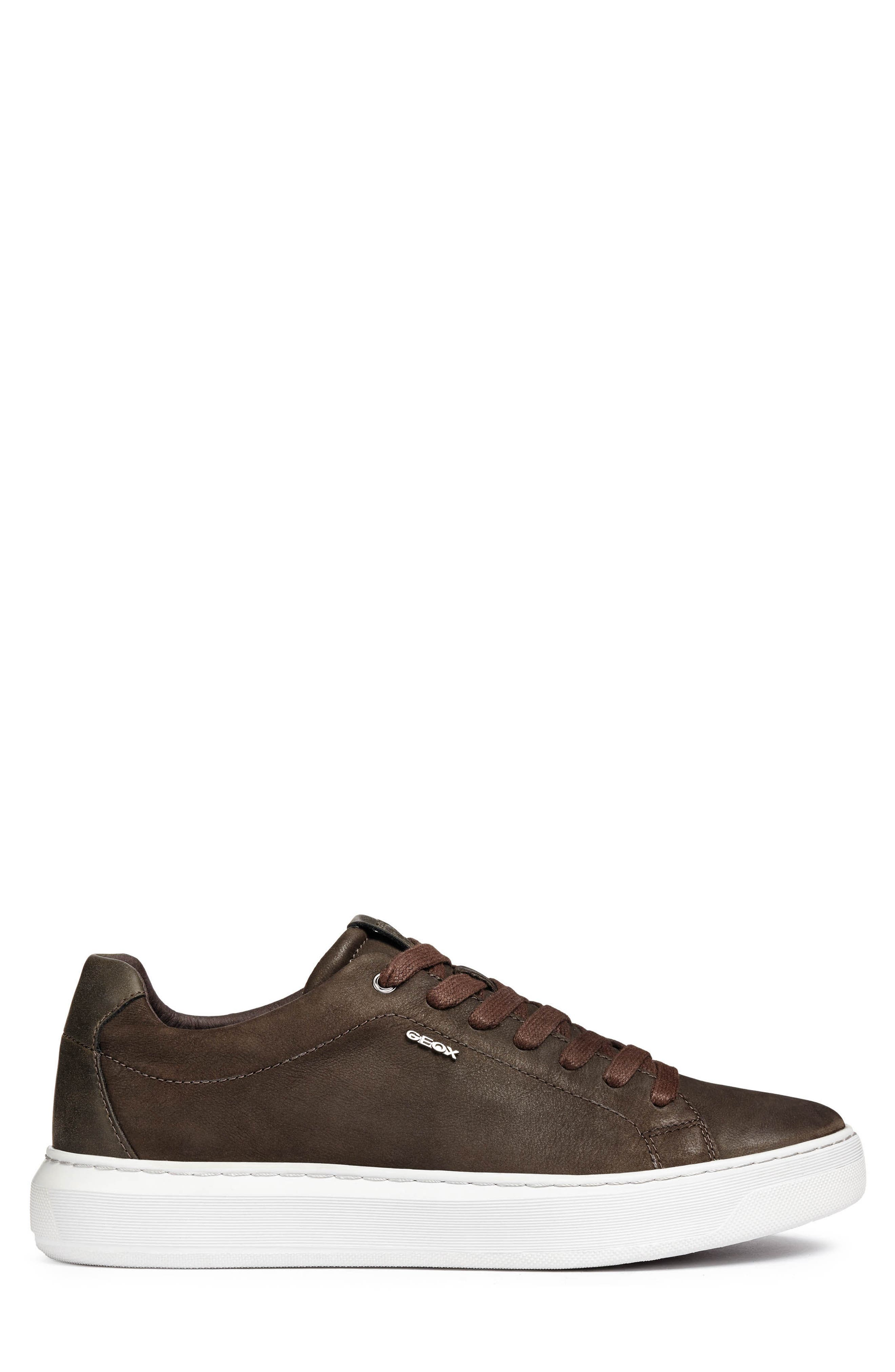 Deiven 5 Low Top Sneaker,                             Alternate thumbnail 3, color,                             DARK COFFEE LEATHER