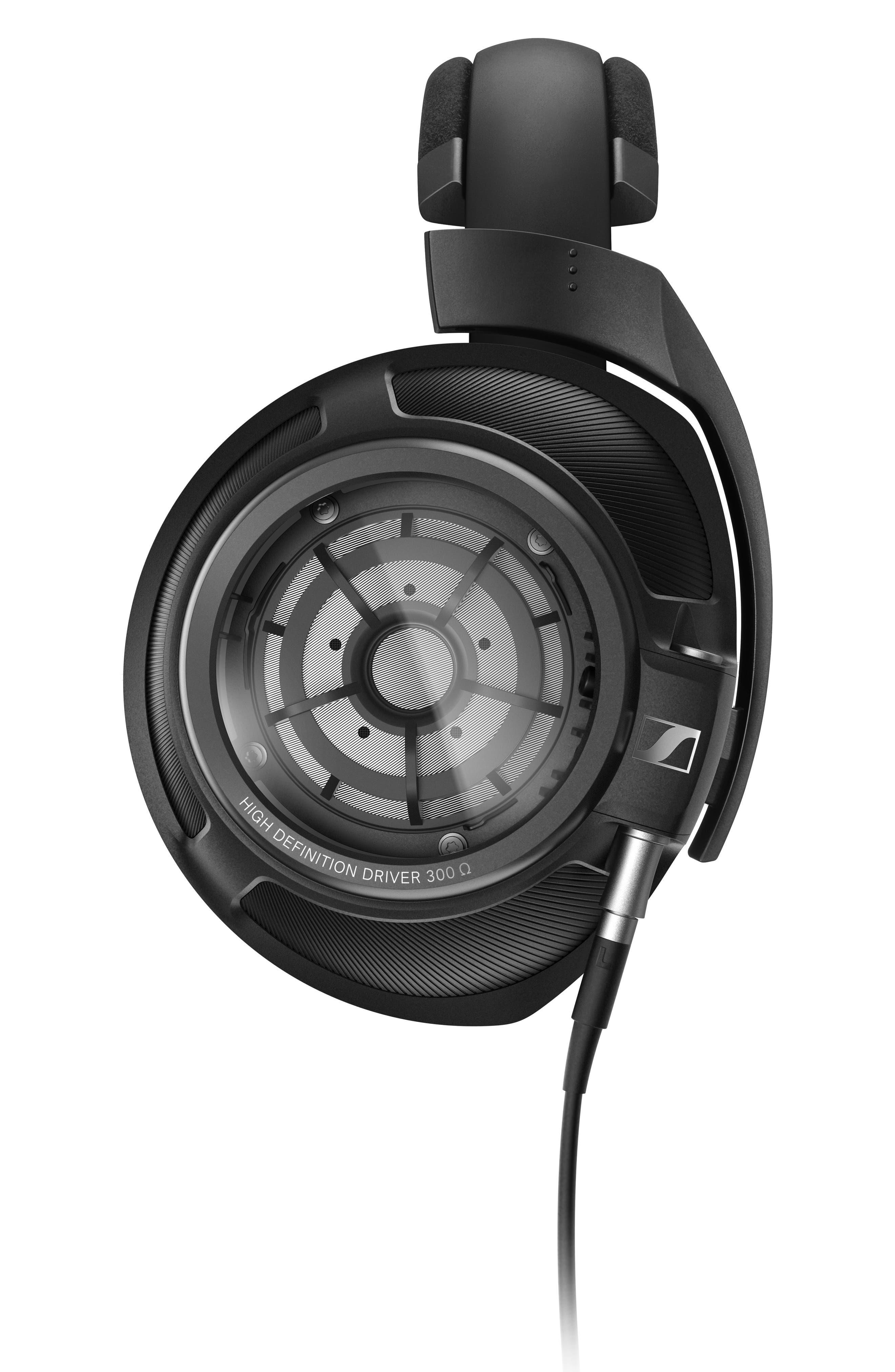 HD 820 On-Ear Headphones,                             Alternate thumbnail 2, color,                             BLACK
