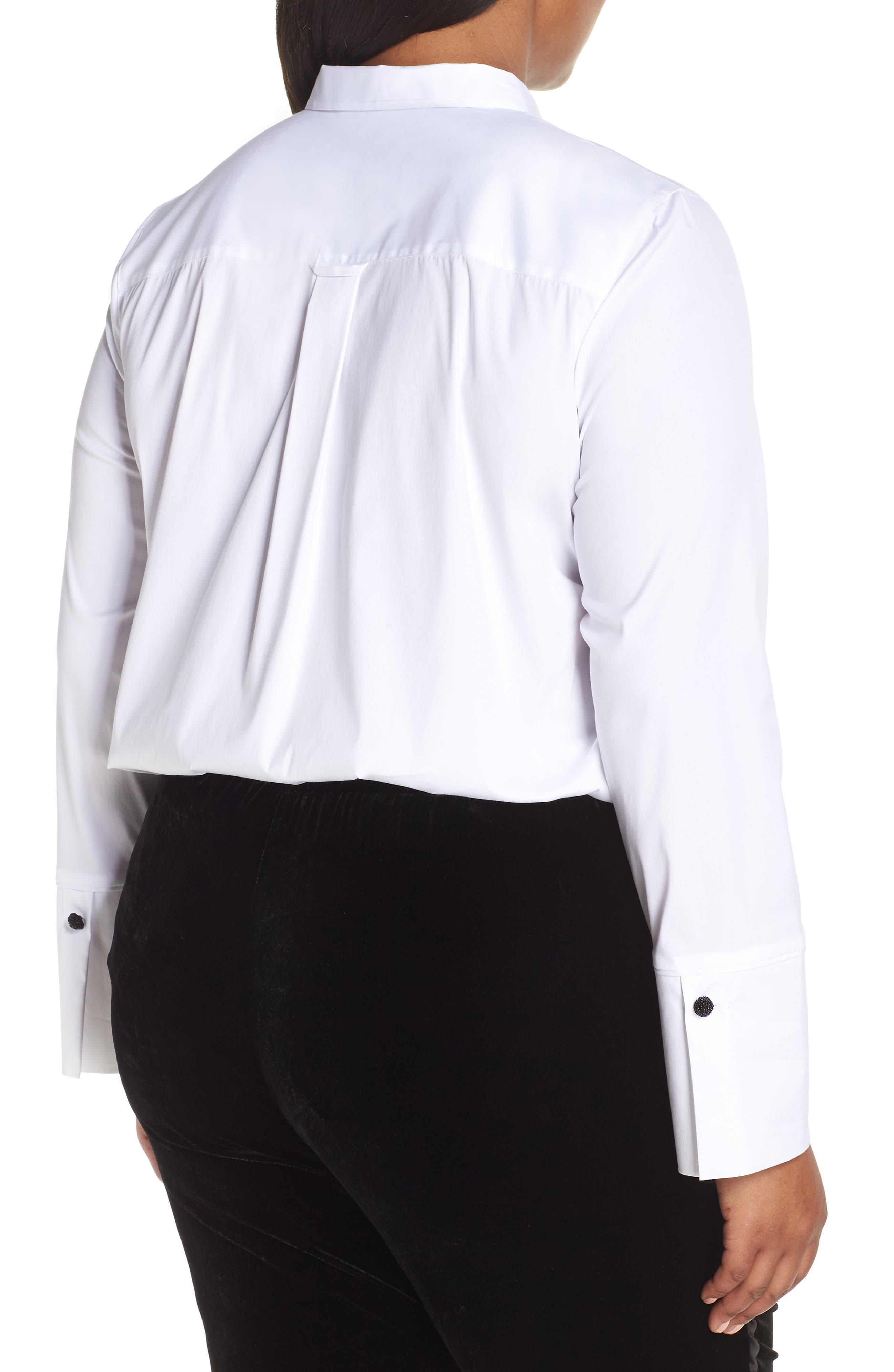 Annaliese Shirt,                             Alternate thumbnail 10, color,                             WHITE