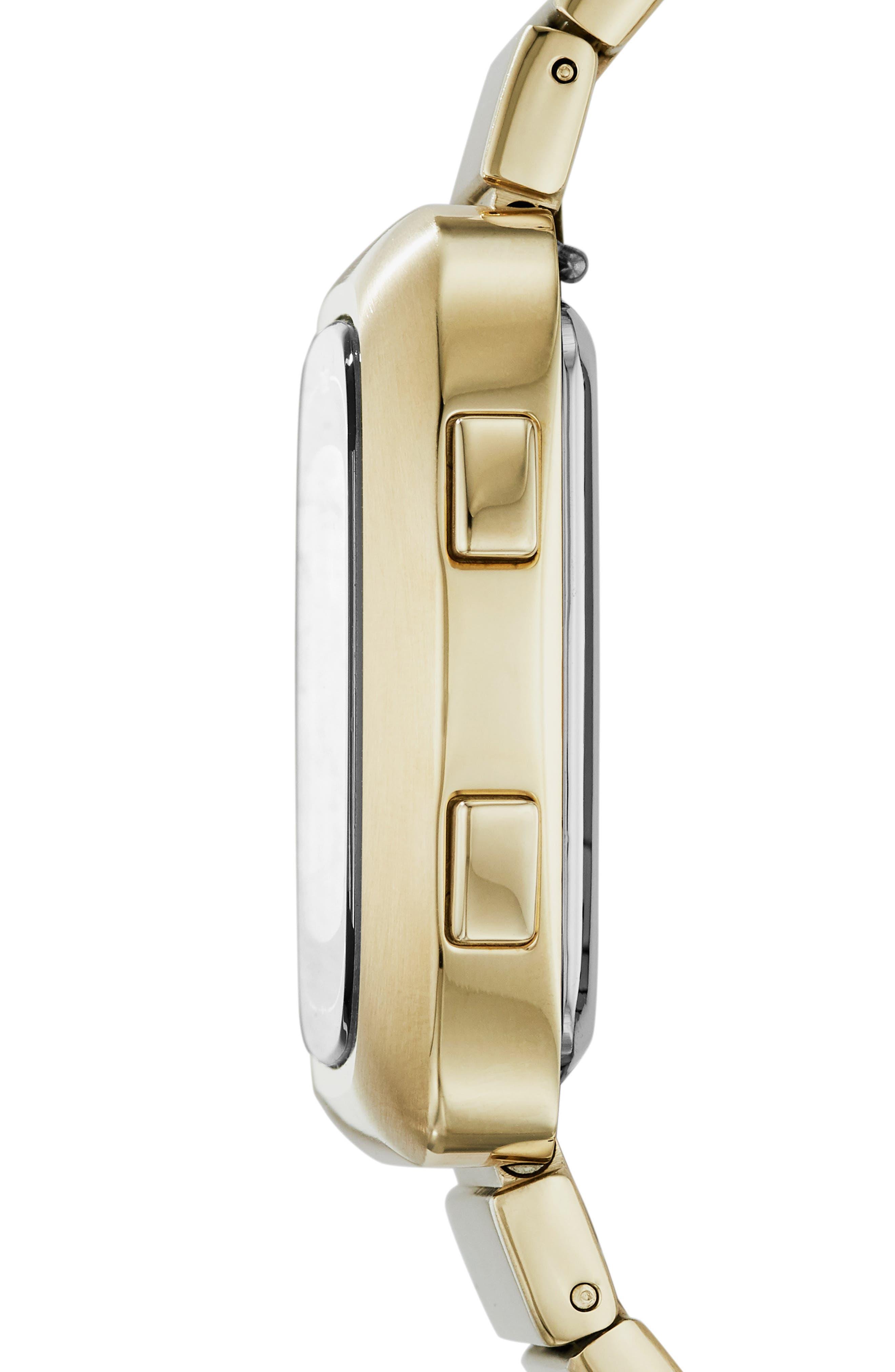 Rutherford Digital Bracelet Watch, 38mm,                             Alternate thumbnail 4, color,