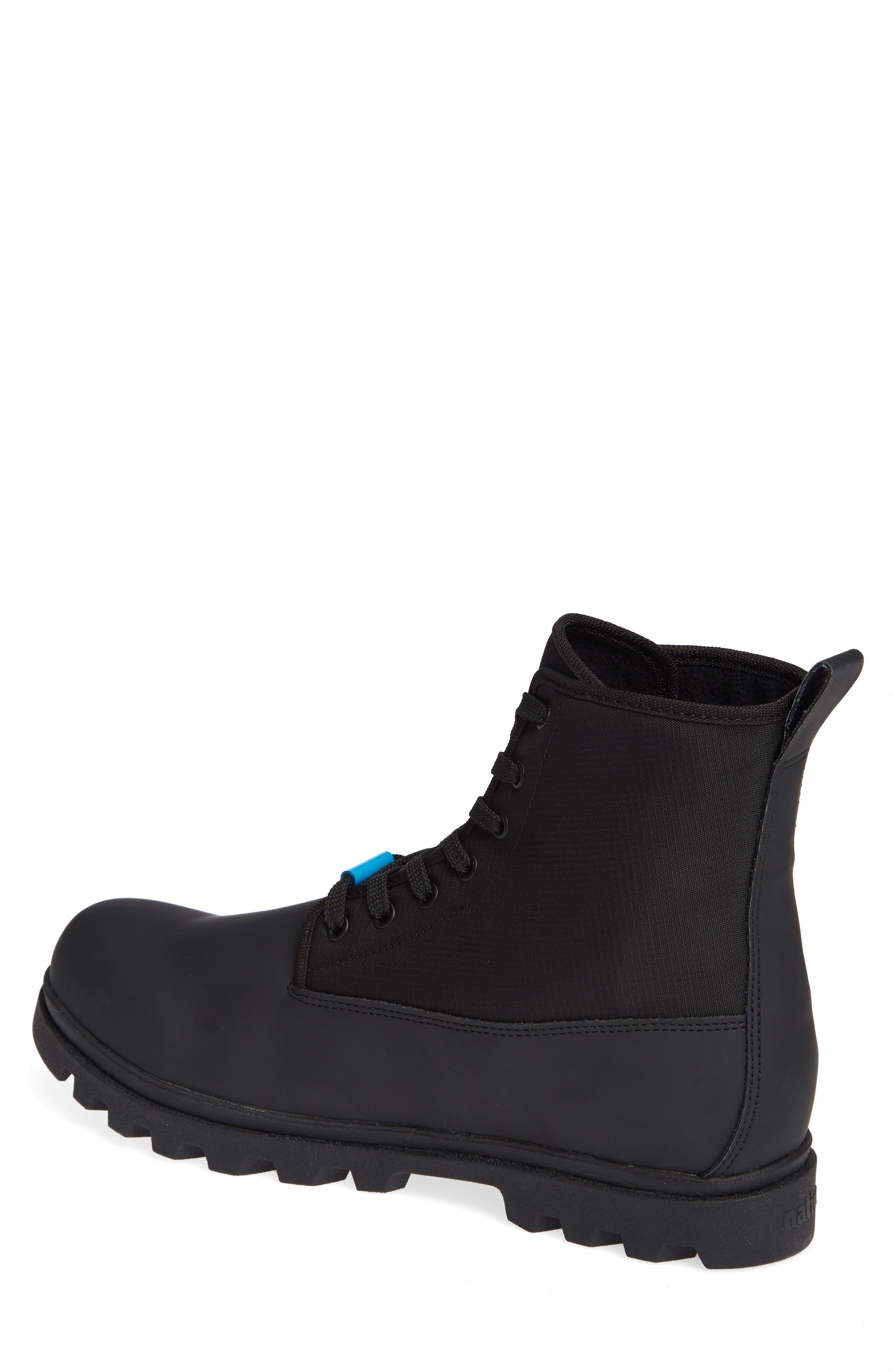 Native Johnny Treklite Water Repellent Boot,                             Alternate thumbnail 2, color,                             JIFFY BLACK/ JIFFY BLACK