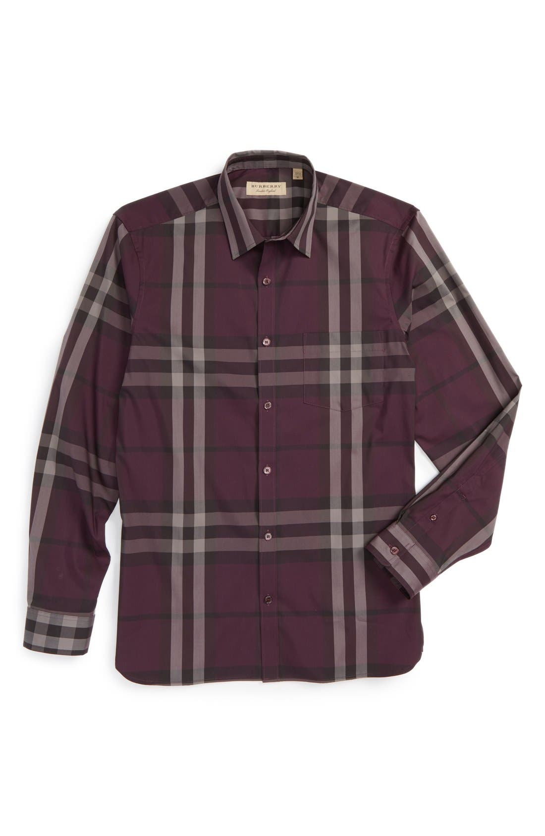 Nelson Check Sport Shirt,                             Main thumbnail 22, color,