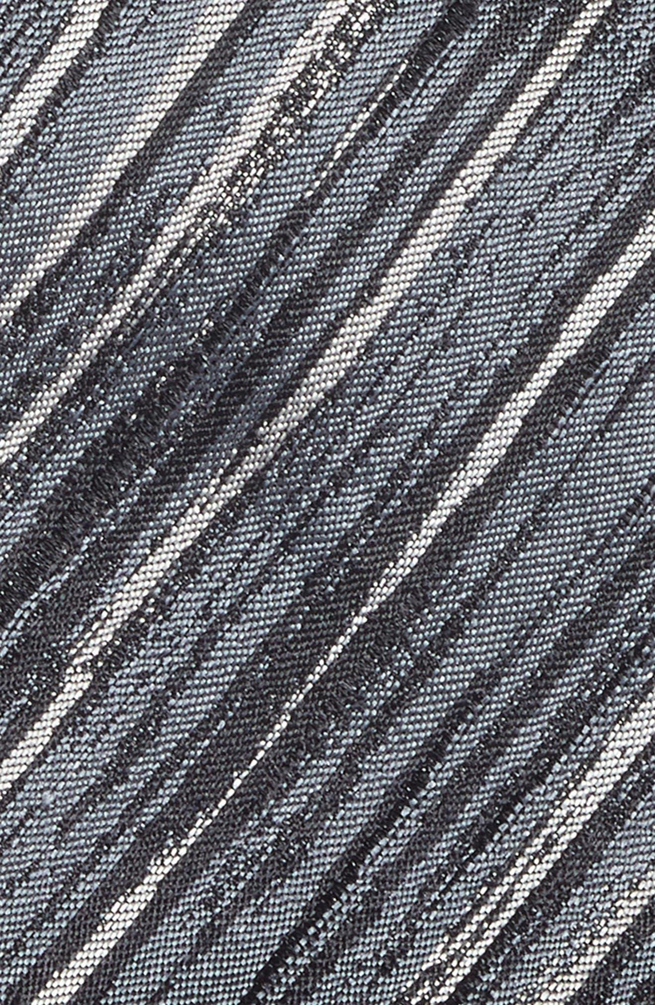 Stripe Silk Tie,                             Alternate thumbnail 2, color,                             014