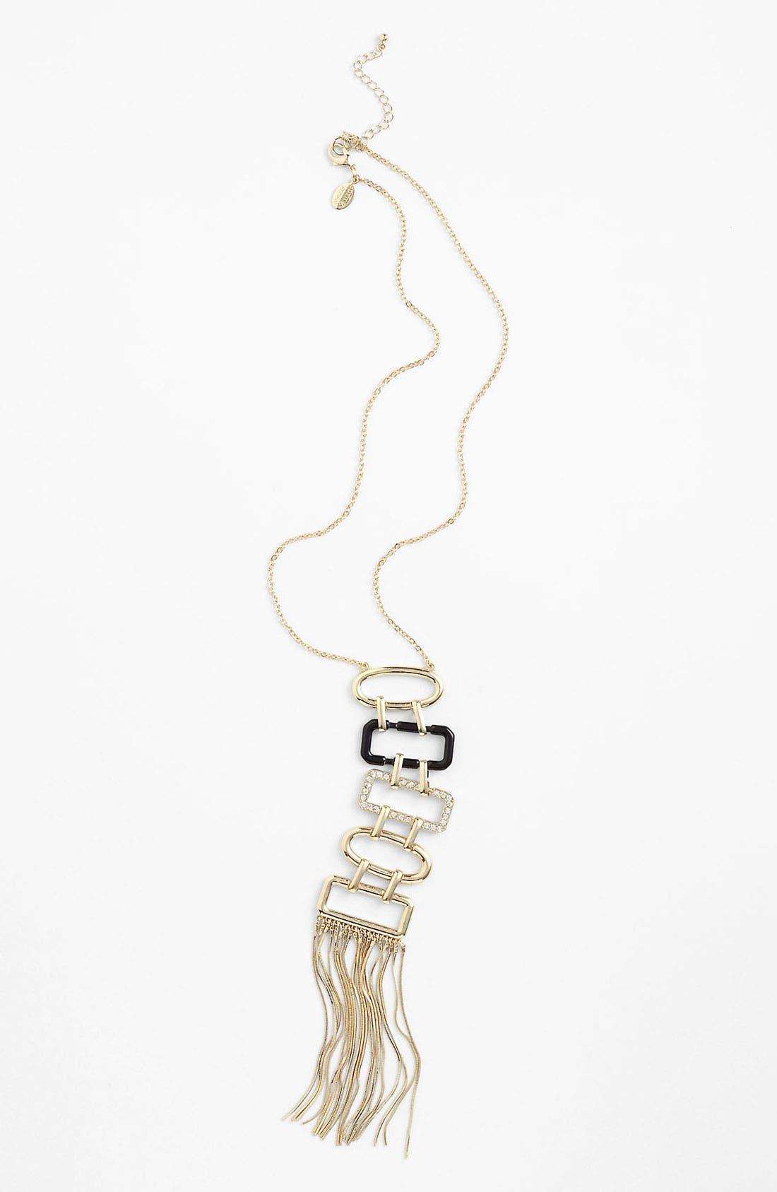 Long Tassel Pendant Necklace,                         Main,                         color, 710