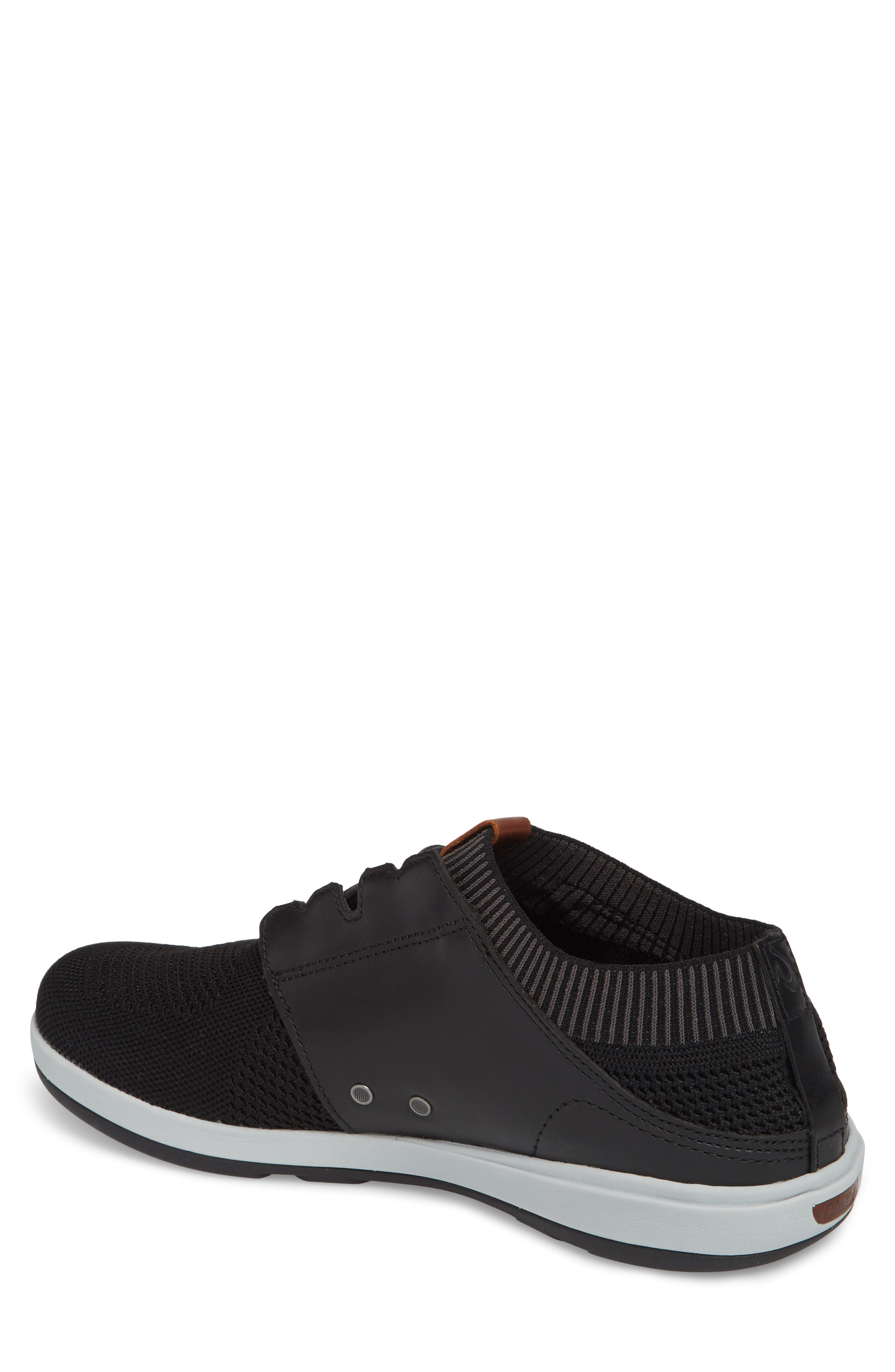 Makia Ulana Sneaker,                             Alternate thumbnail 2, color,                             BLACK/ BLACK