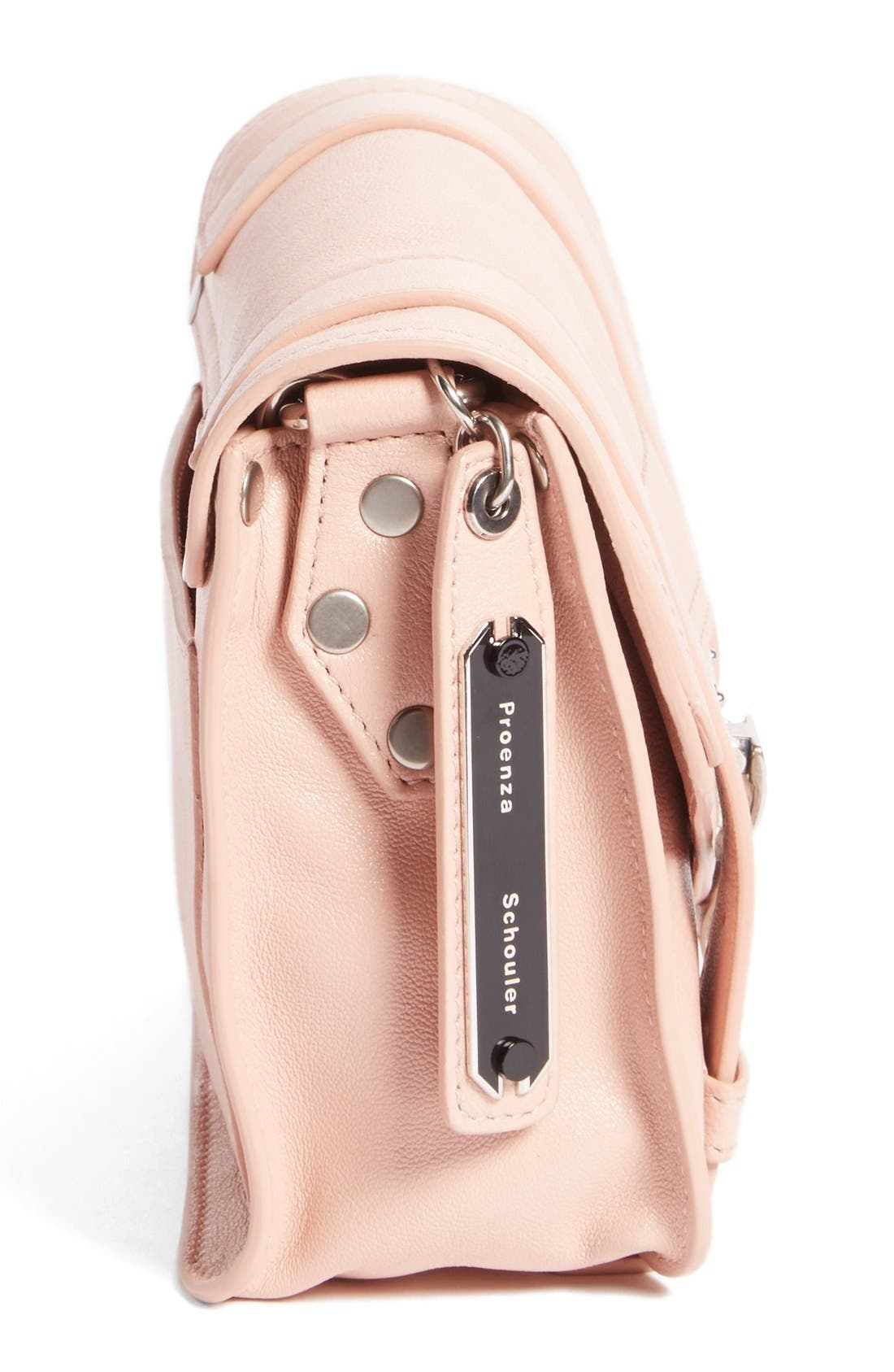 'Mini PS1' Lambskin Leather Crossbody Bag,                             Alternate thumbnail 9, color,