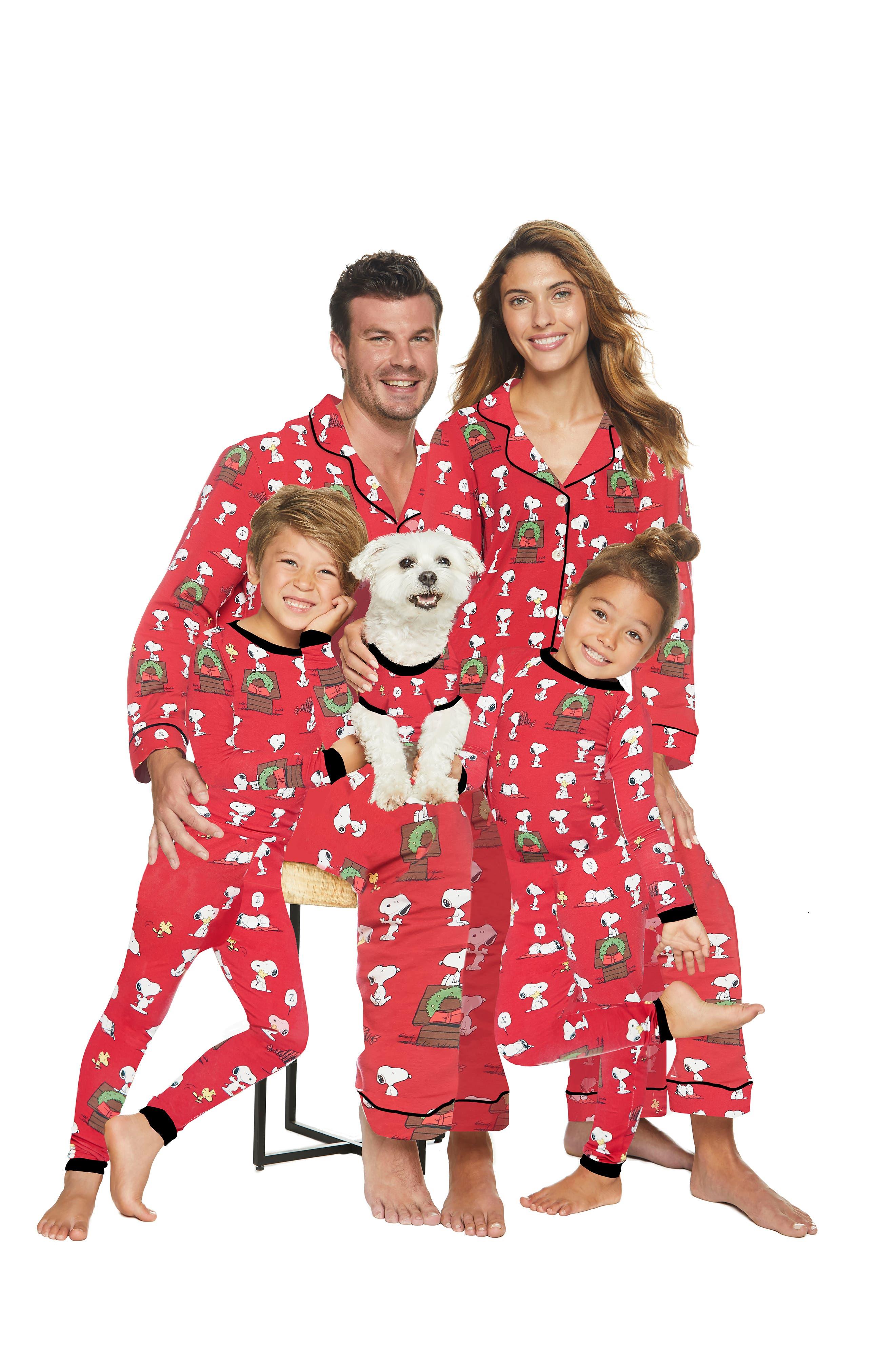 Dog Pajamas,                             Alternate thumbnail 3, color,                             SNOOPYS CHRISTMAS 4136